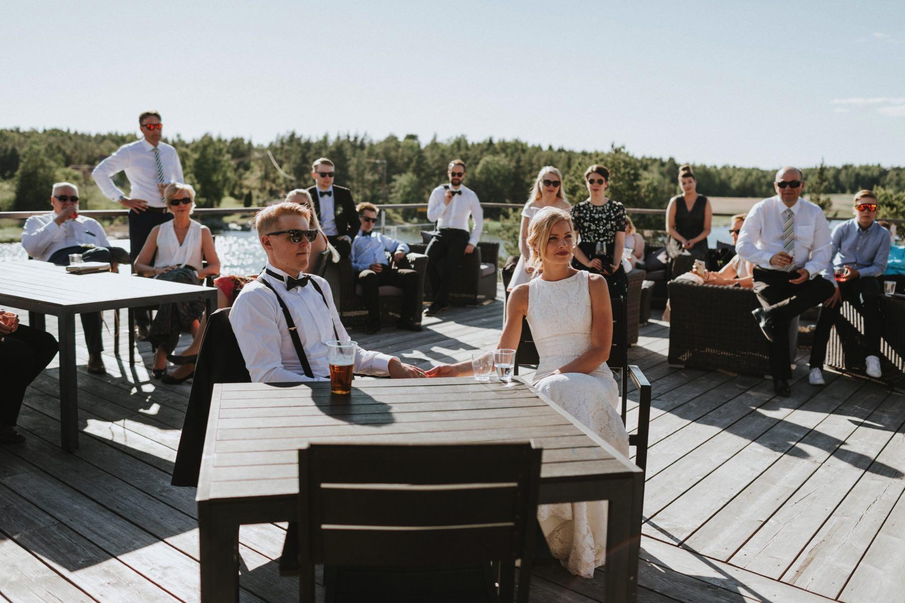 dokumentaarinen hääkuvaus Rauma