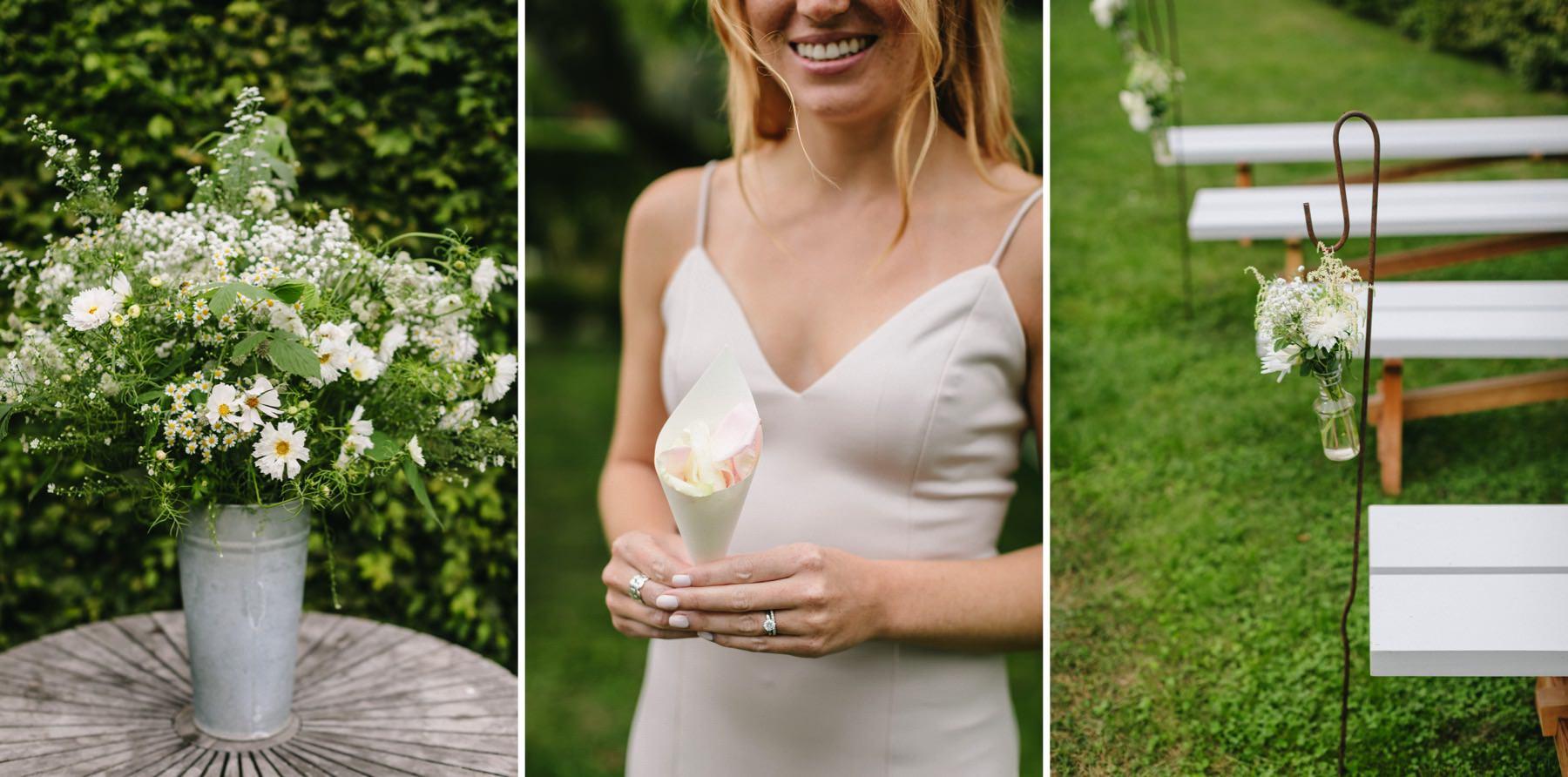 Rosendals Trädgård bröllopsceremoni