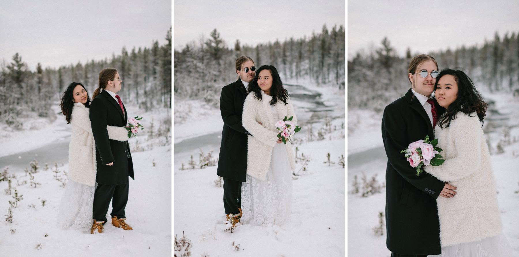 wedding photographer in Lapland