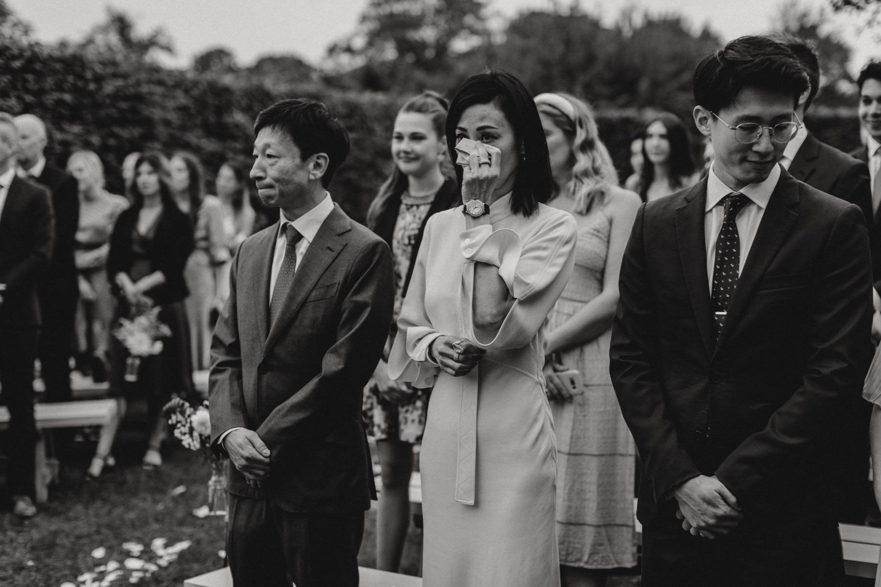 Rosendals Trädgård ceremony