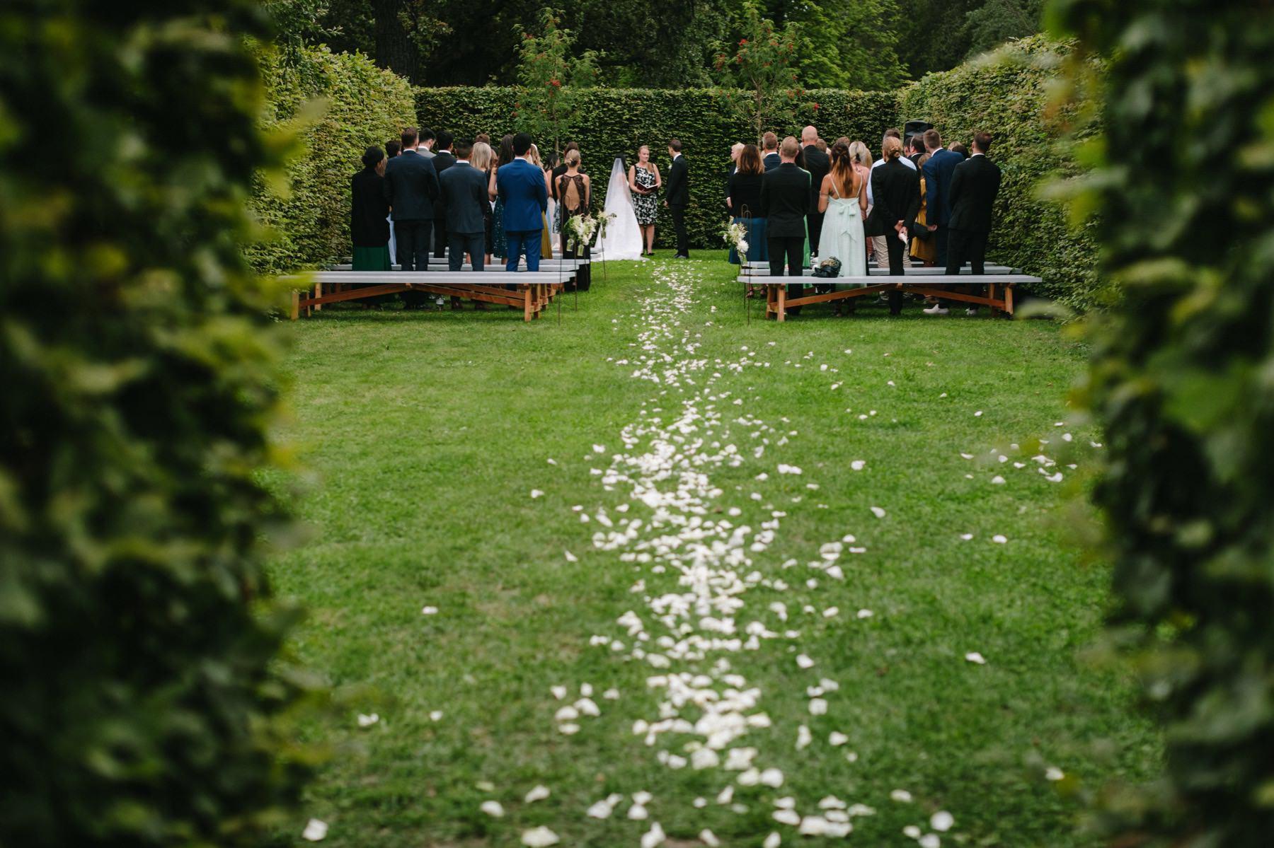 Rosendals Trädgård wedding