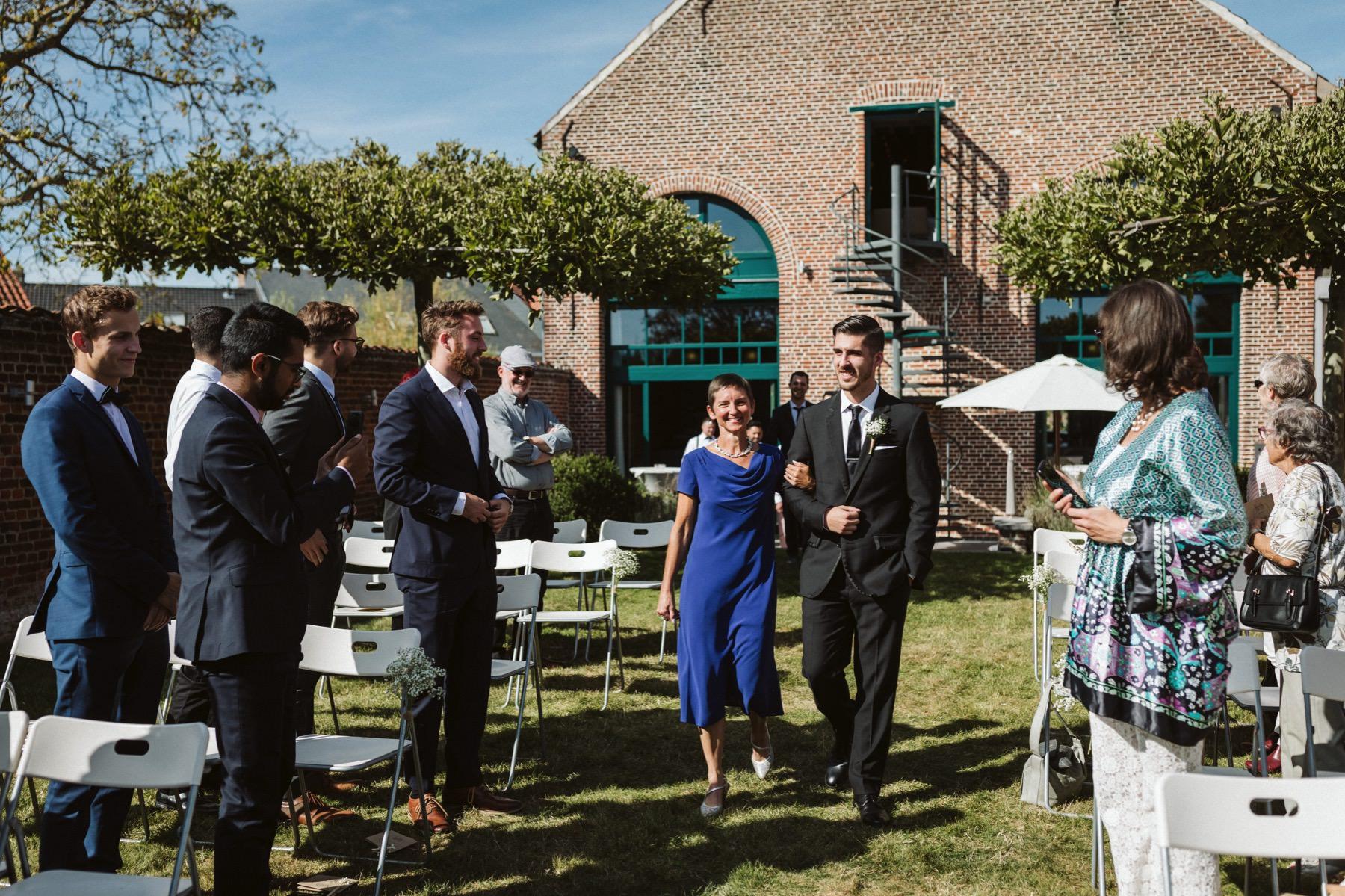 De Architect wedding venue Lennik