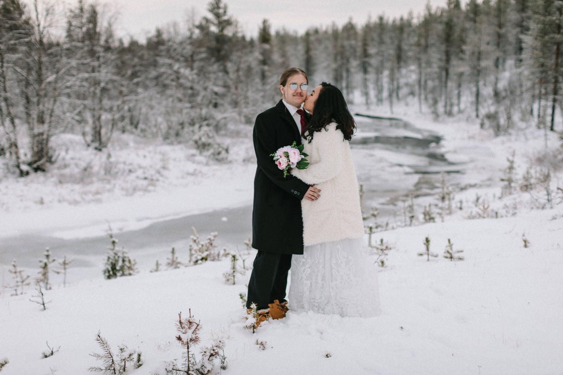 Lapland prewedding photographer