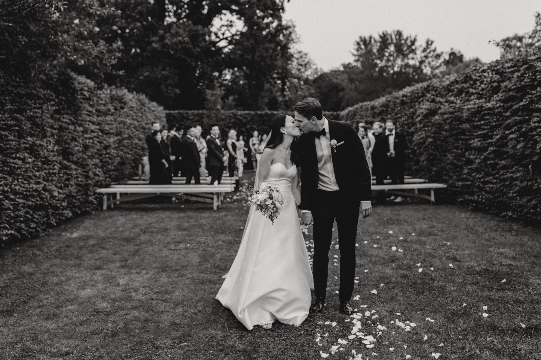 Rosendals Trädgård secret garden wedding