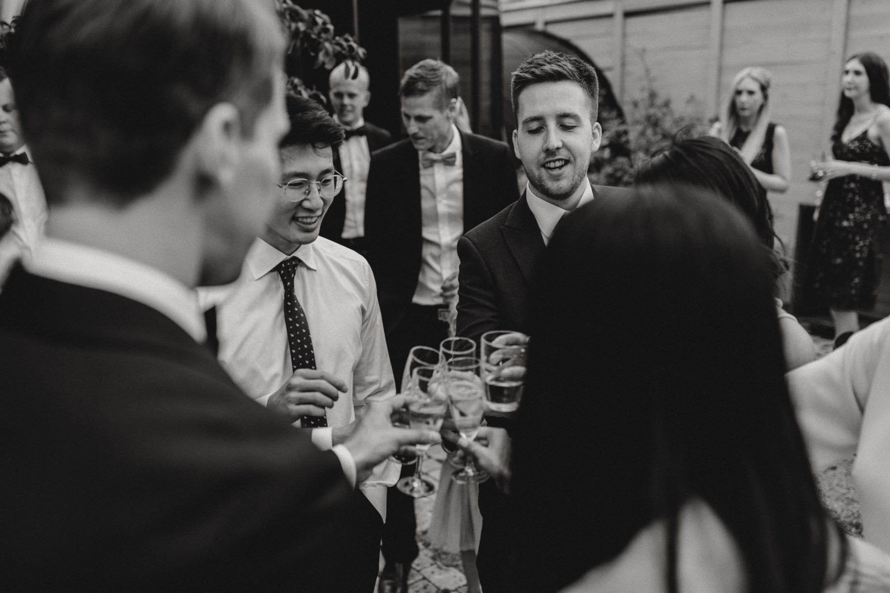 international wedding guests