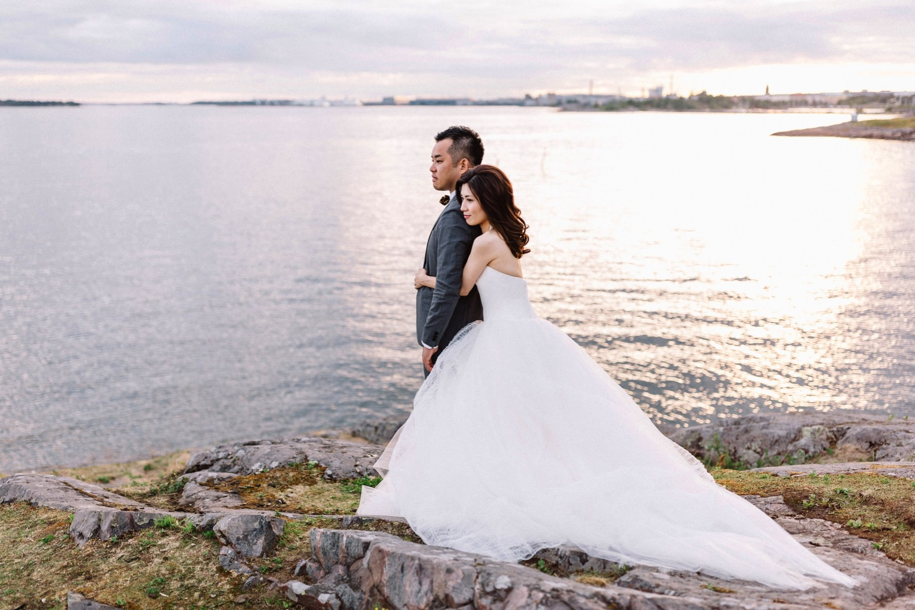 prewedding photography in Finland