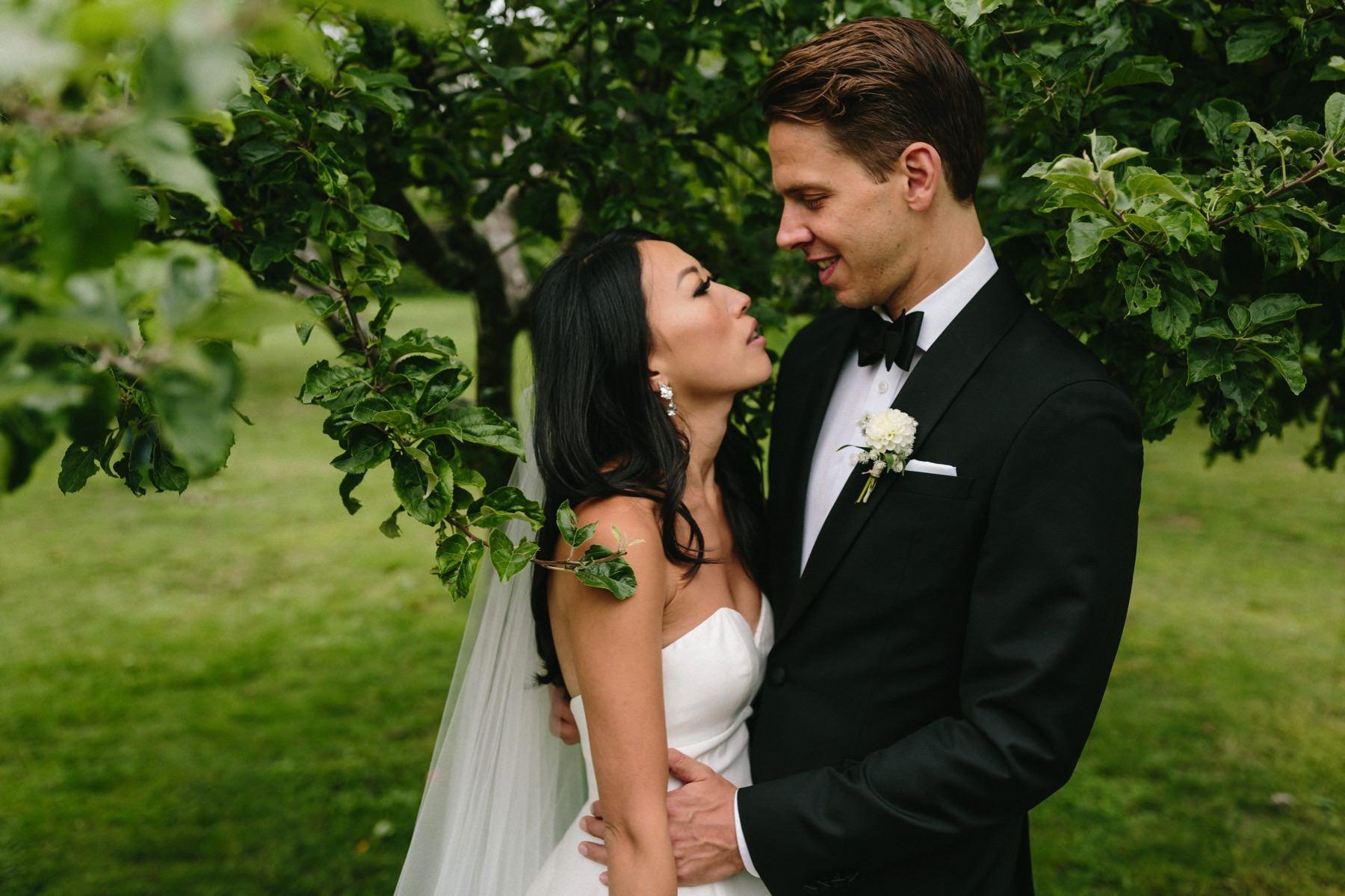bröllopsfotograf Stockholm Rosendals Trädgård