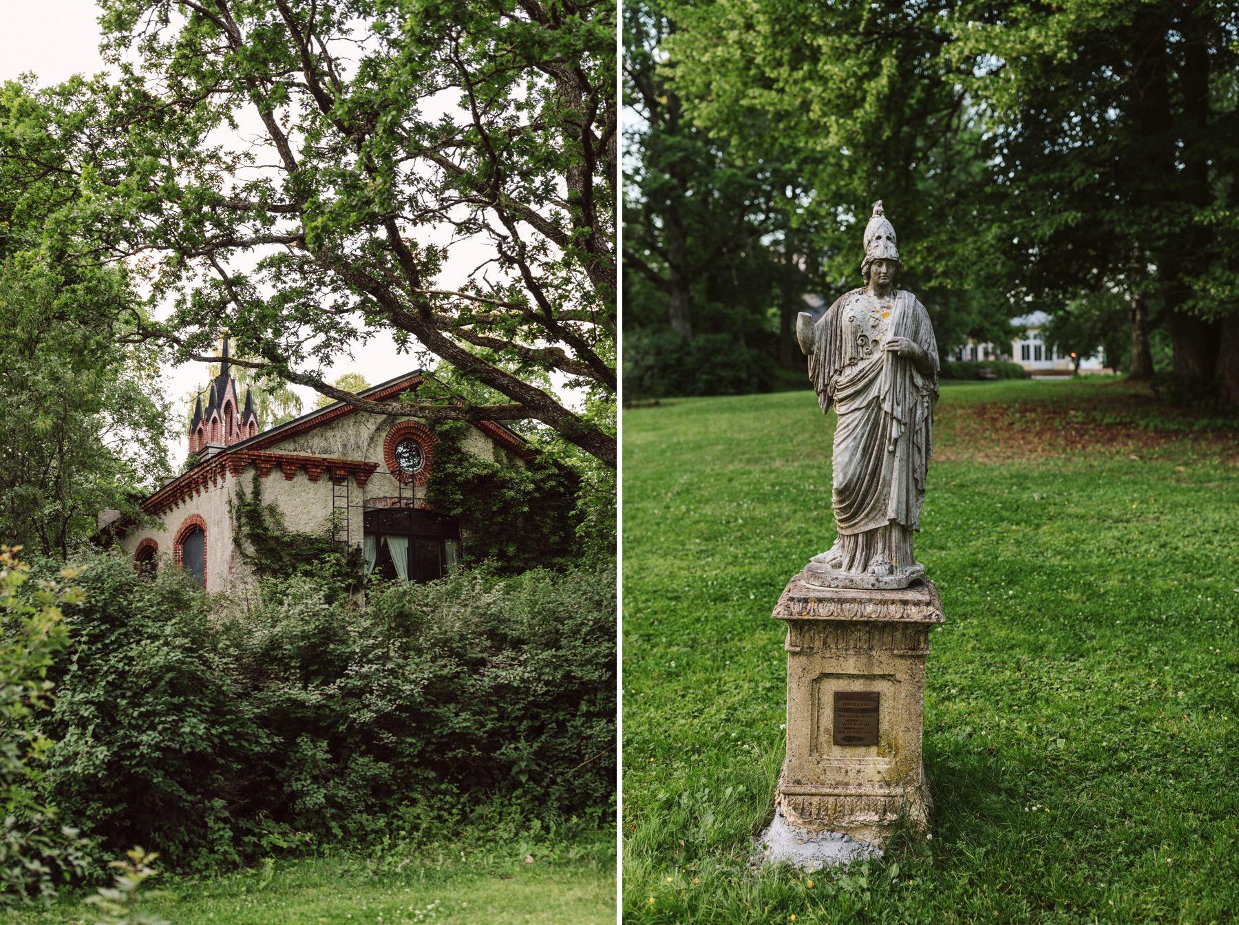 Mustion Linna garden