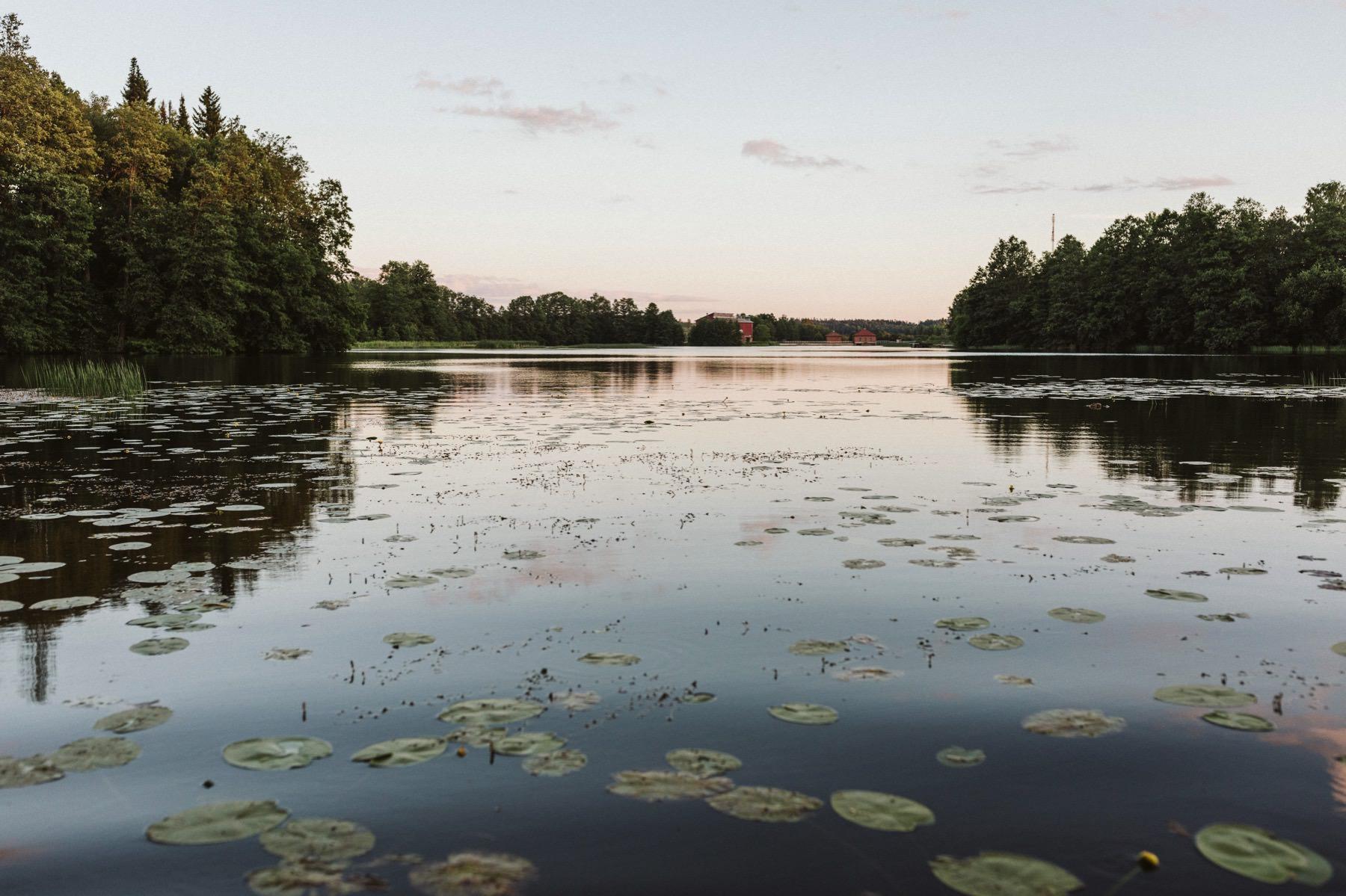 Mustion Linna pond