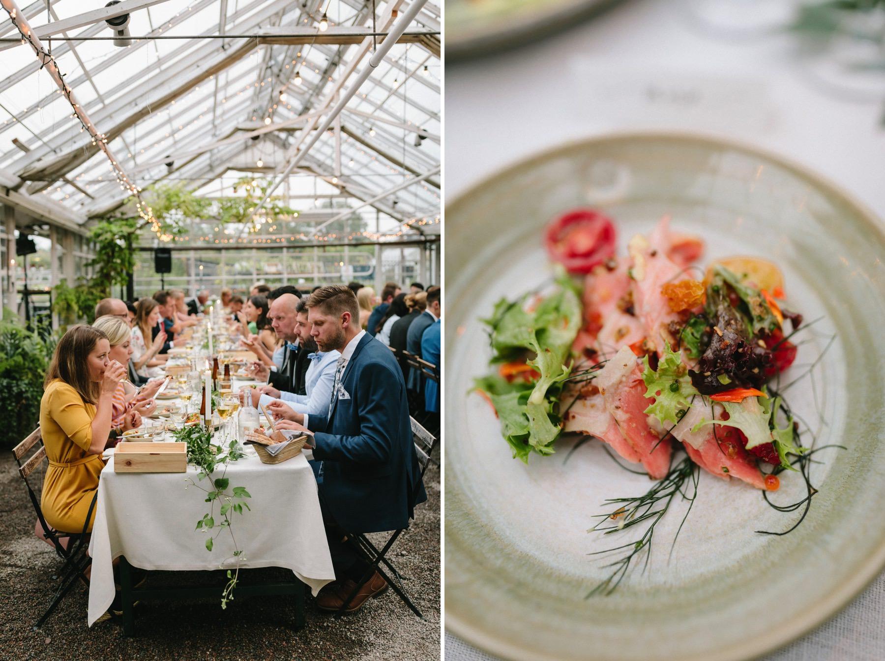 rosendals trädgård wedding menu