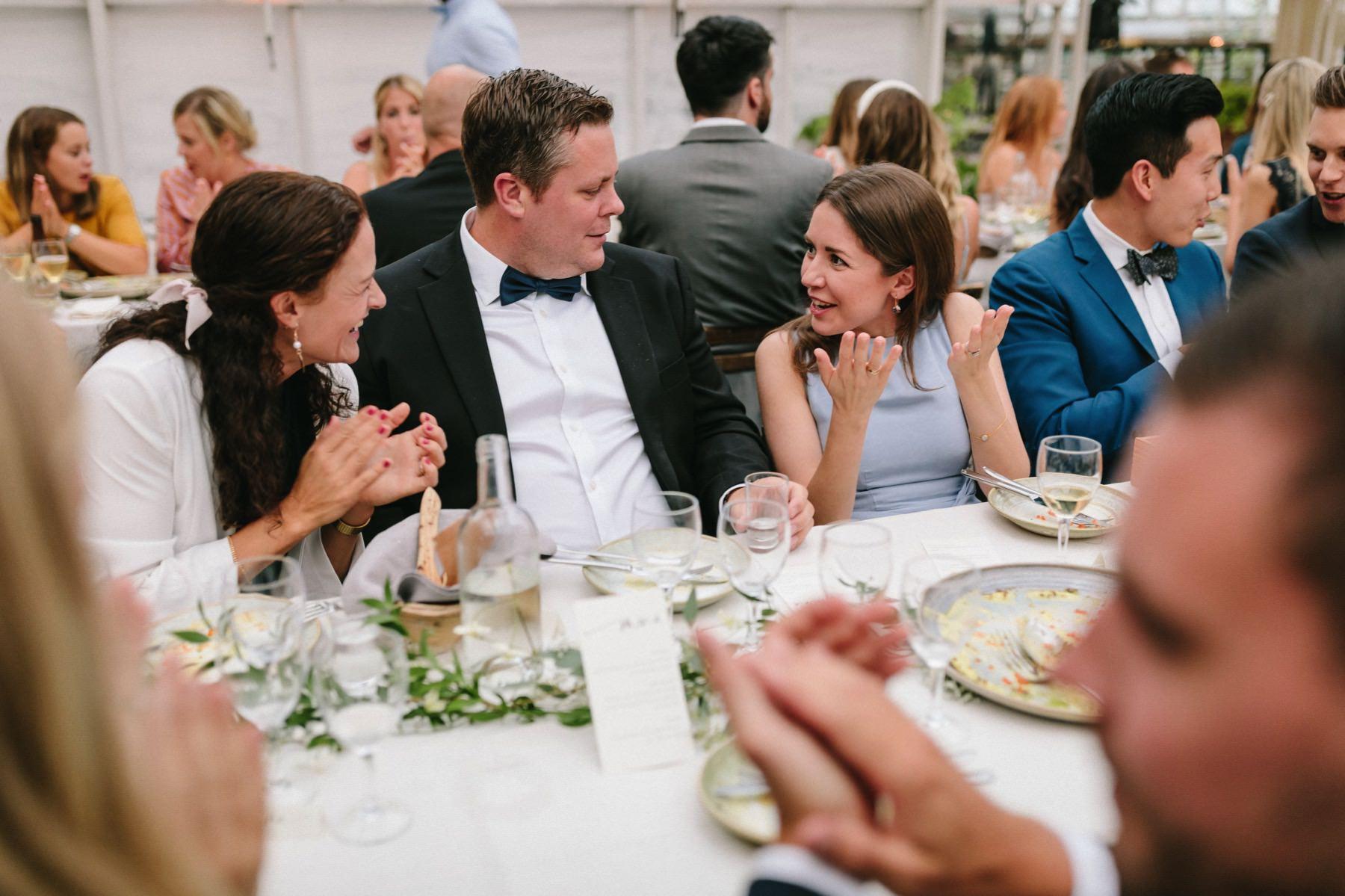 international wedding at rosendals trädgård