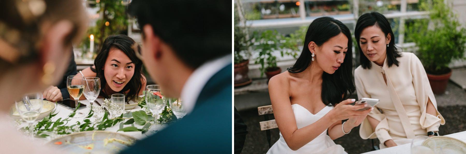 wedding at rosendals trädgård