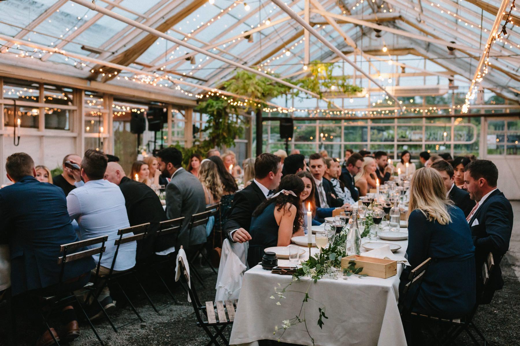 getting married at rosendals trädgård