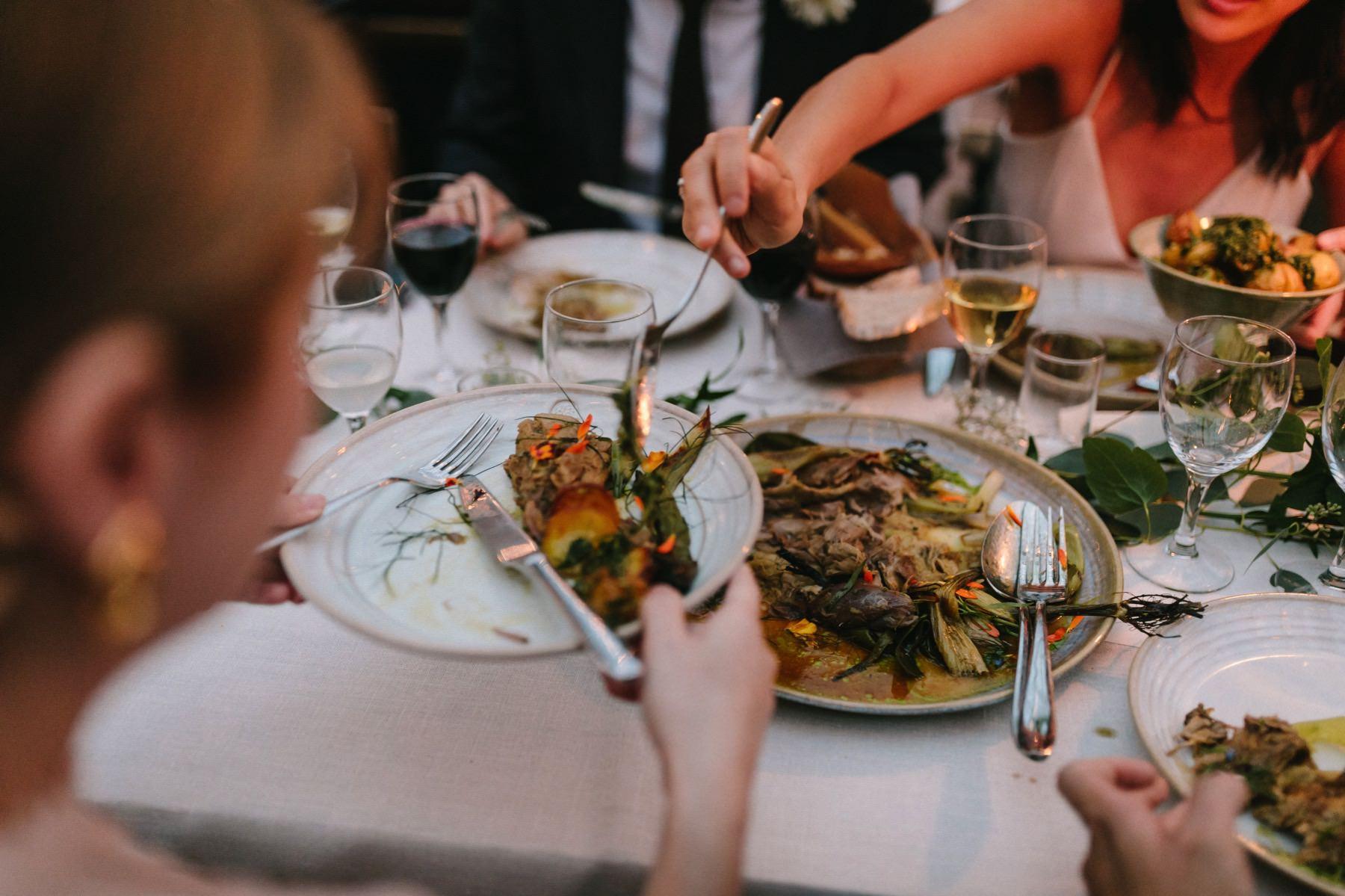 bröllop menu rosendals trädgård