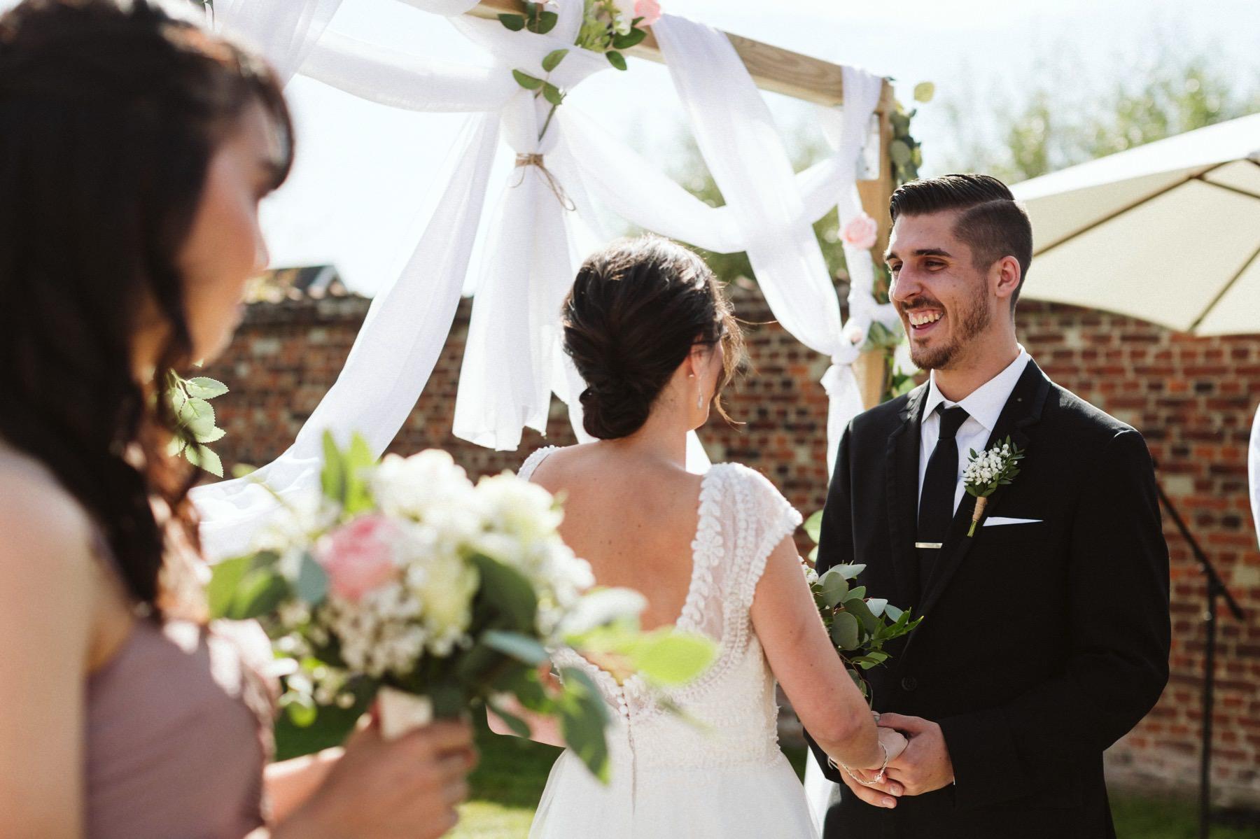 outdoor wedding Belgium
