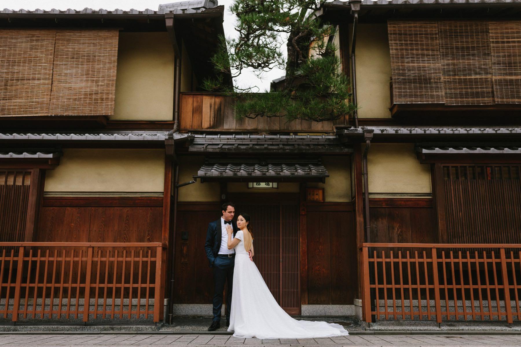 prewedding session Gion Kyoto Japan
