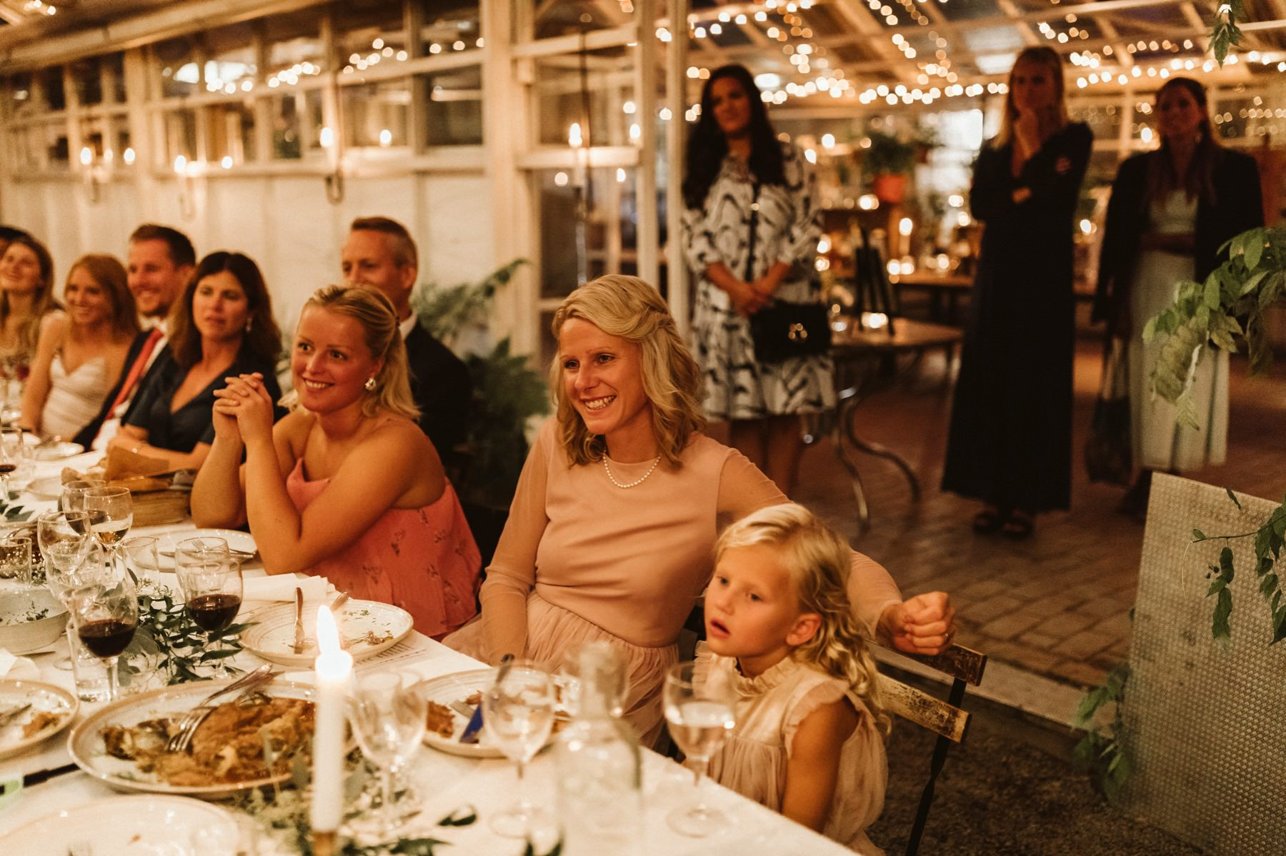 Swedish Canadian wedding