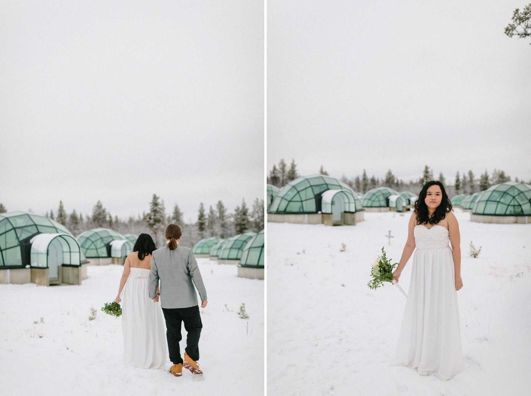 Lapland igloo hotel
