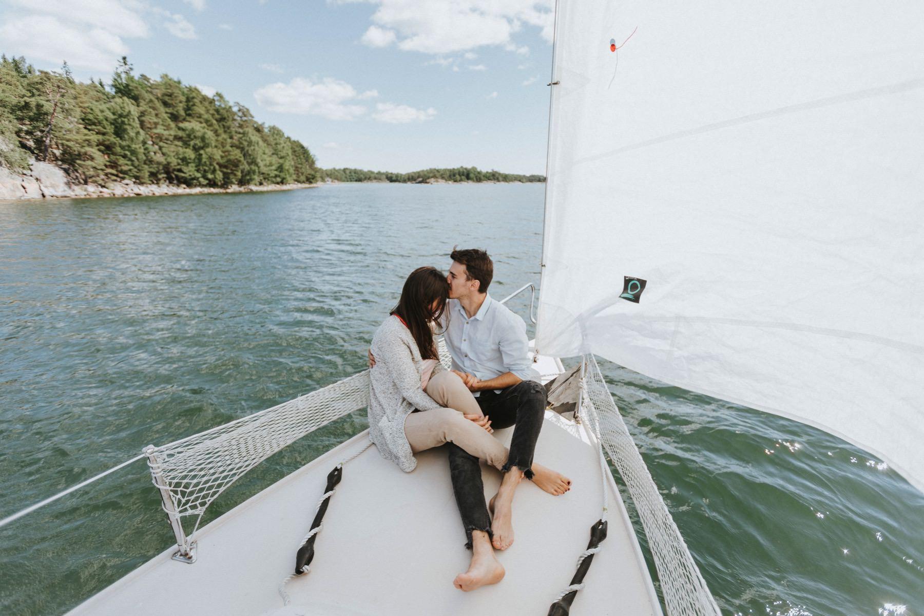 sailboat photo session