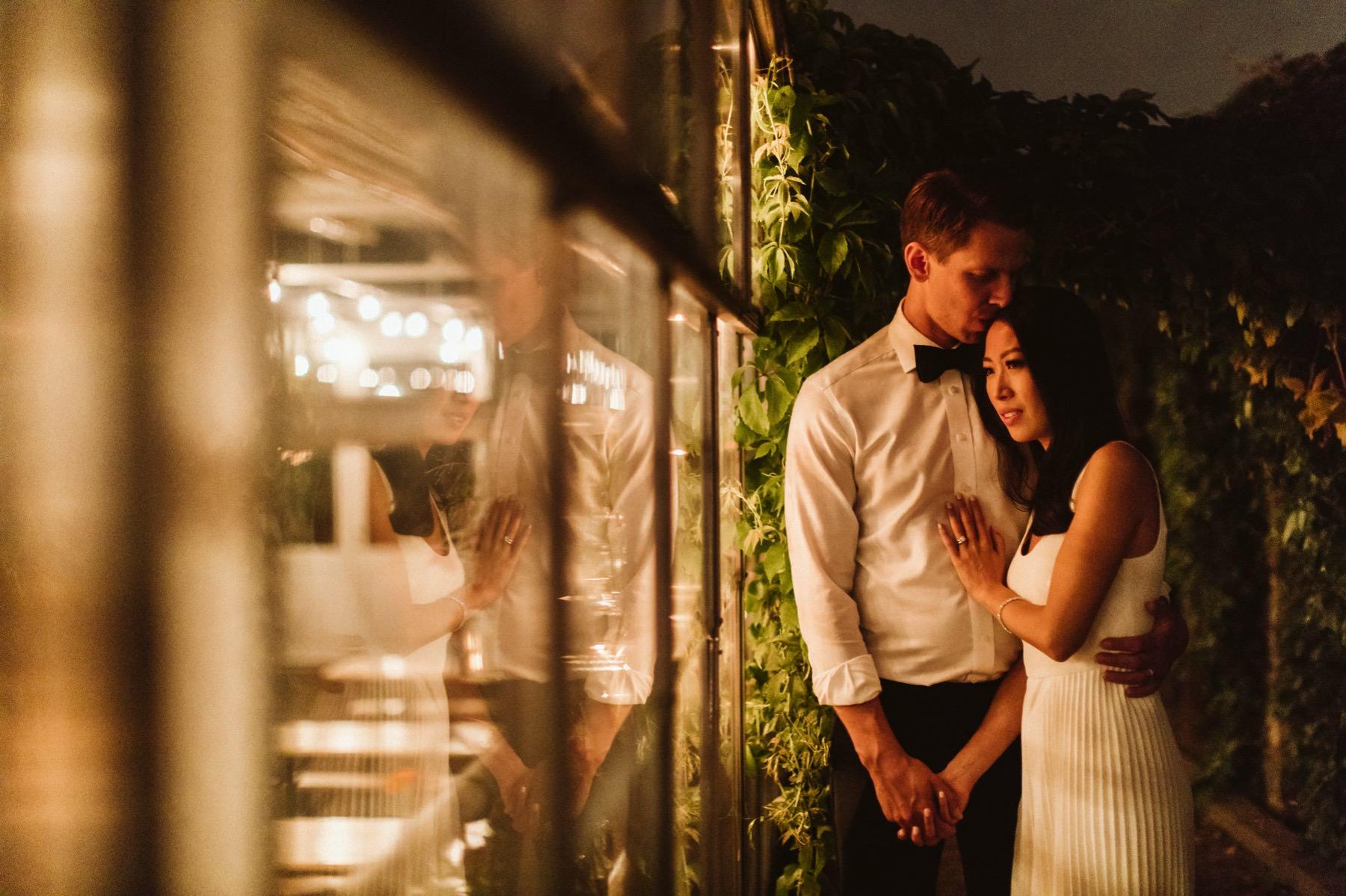 växthus bröllop
