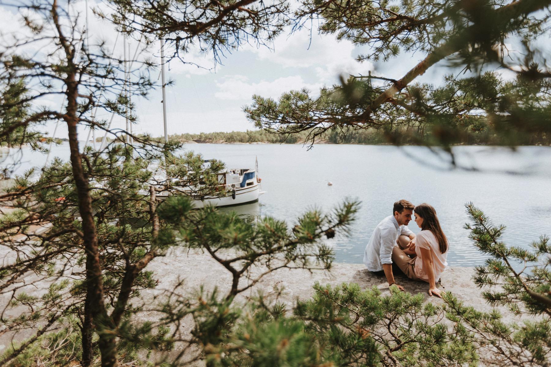 archipelago sailing photo session