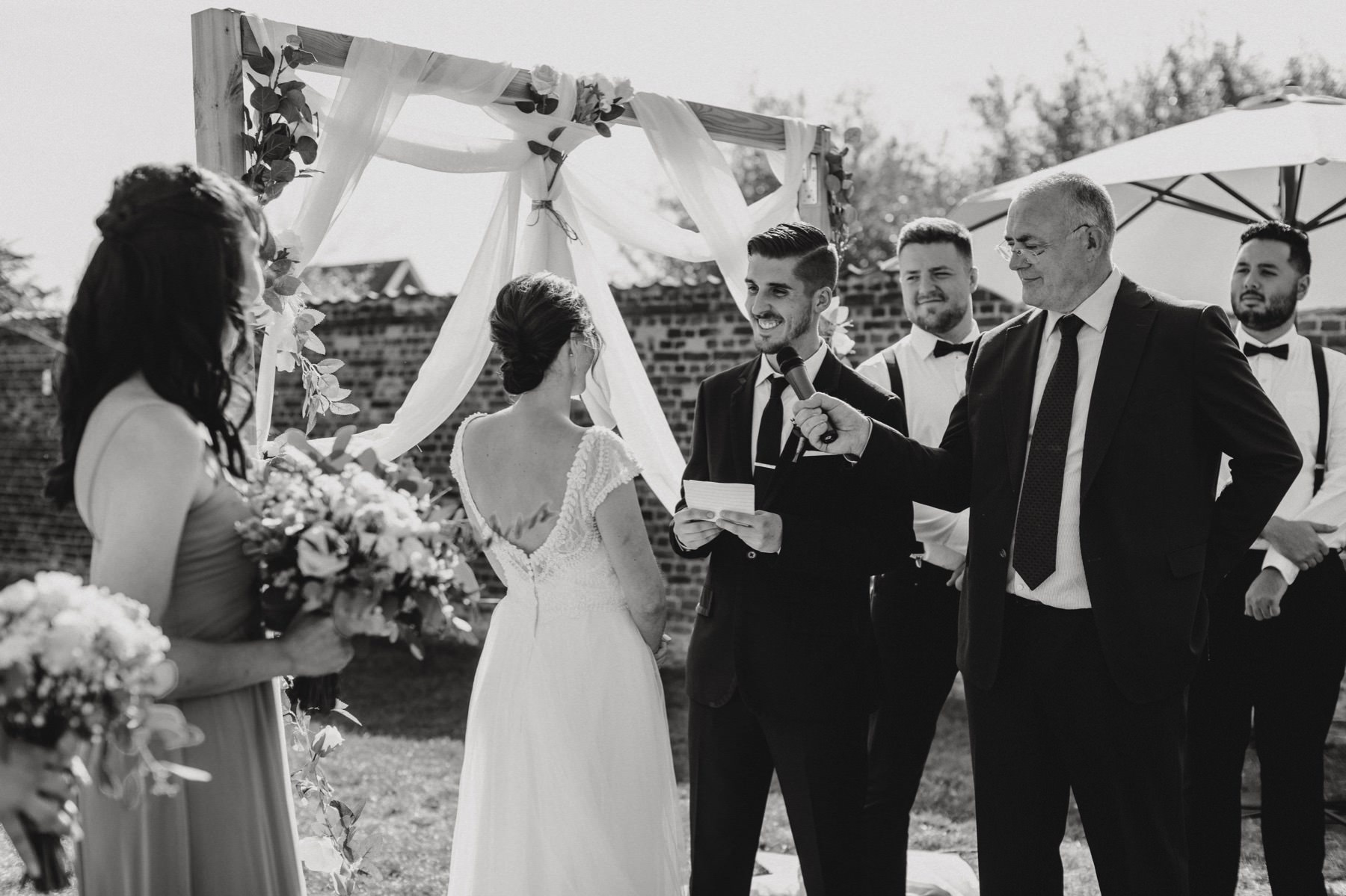 Christian wedding in Belgium