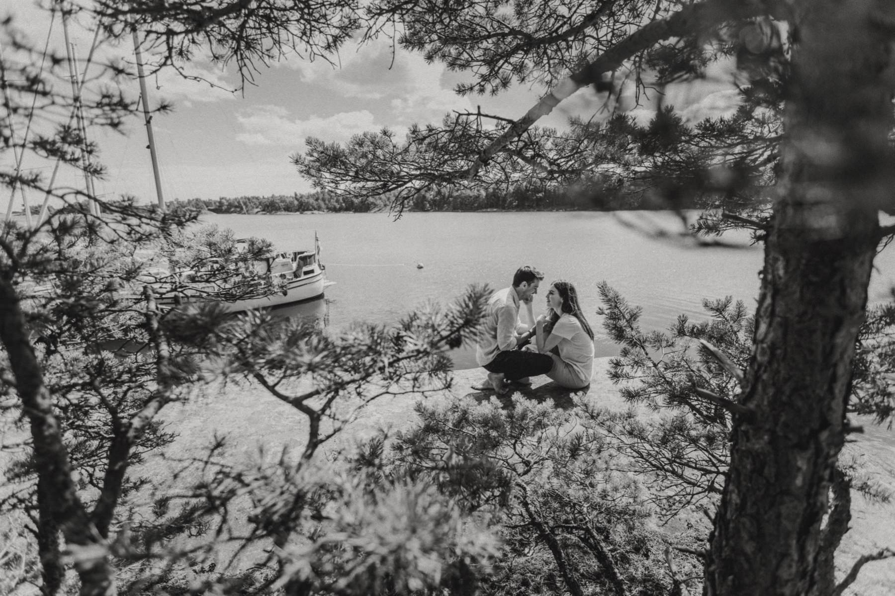 photo session in the Finnish archipelago