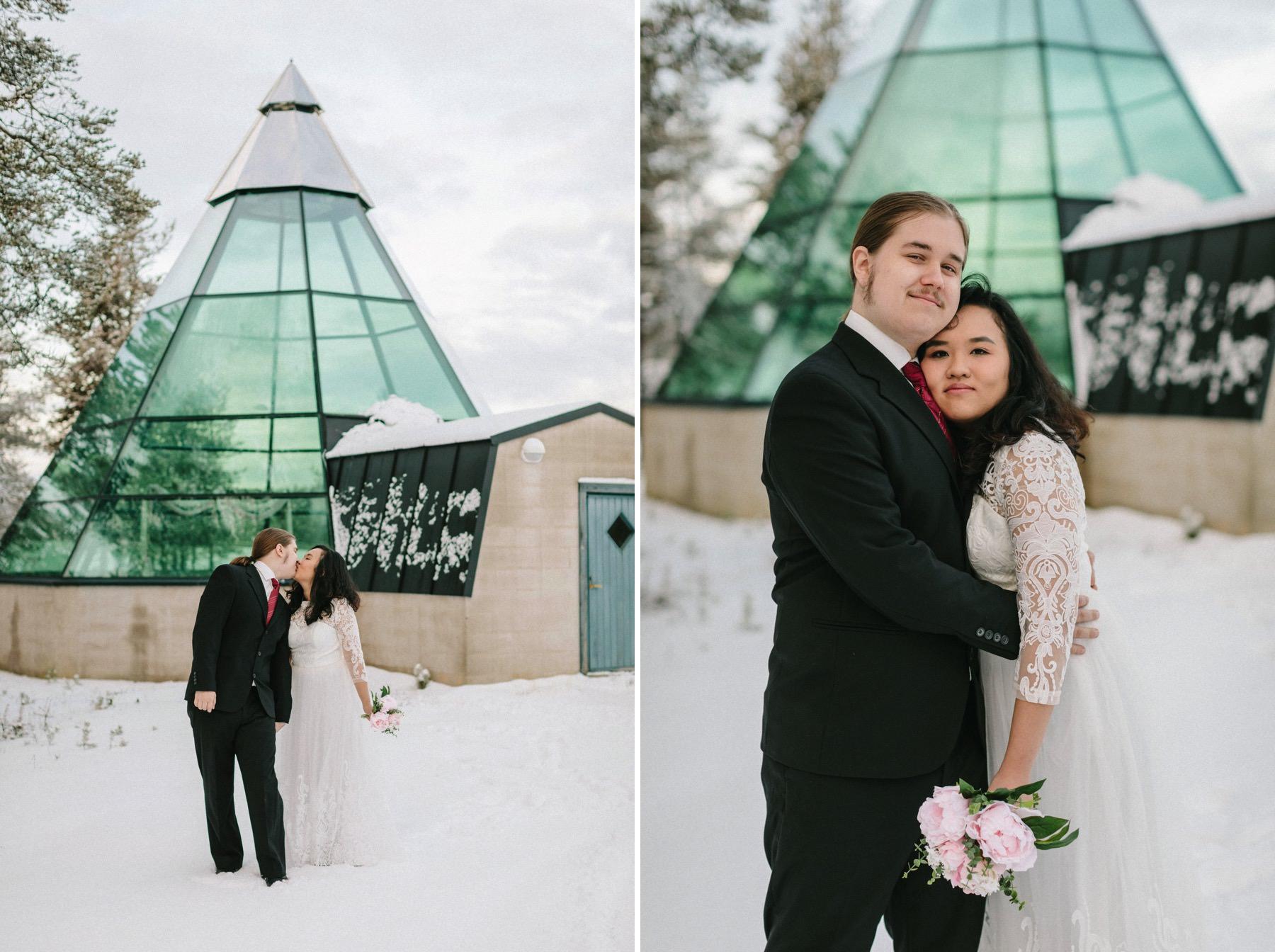 stay at Kakslauttanen Arctic Resort