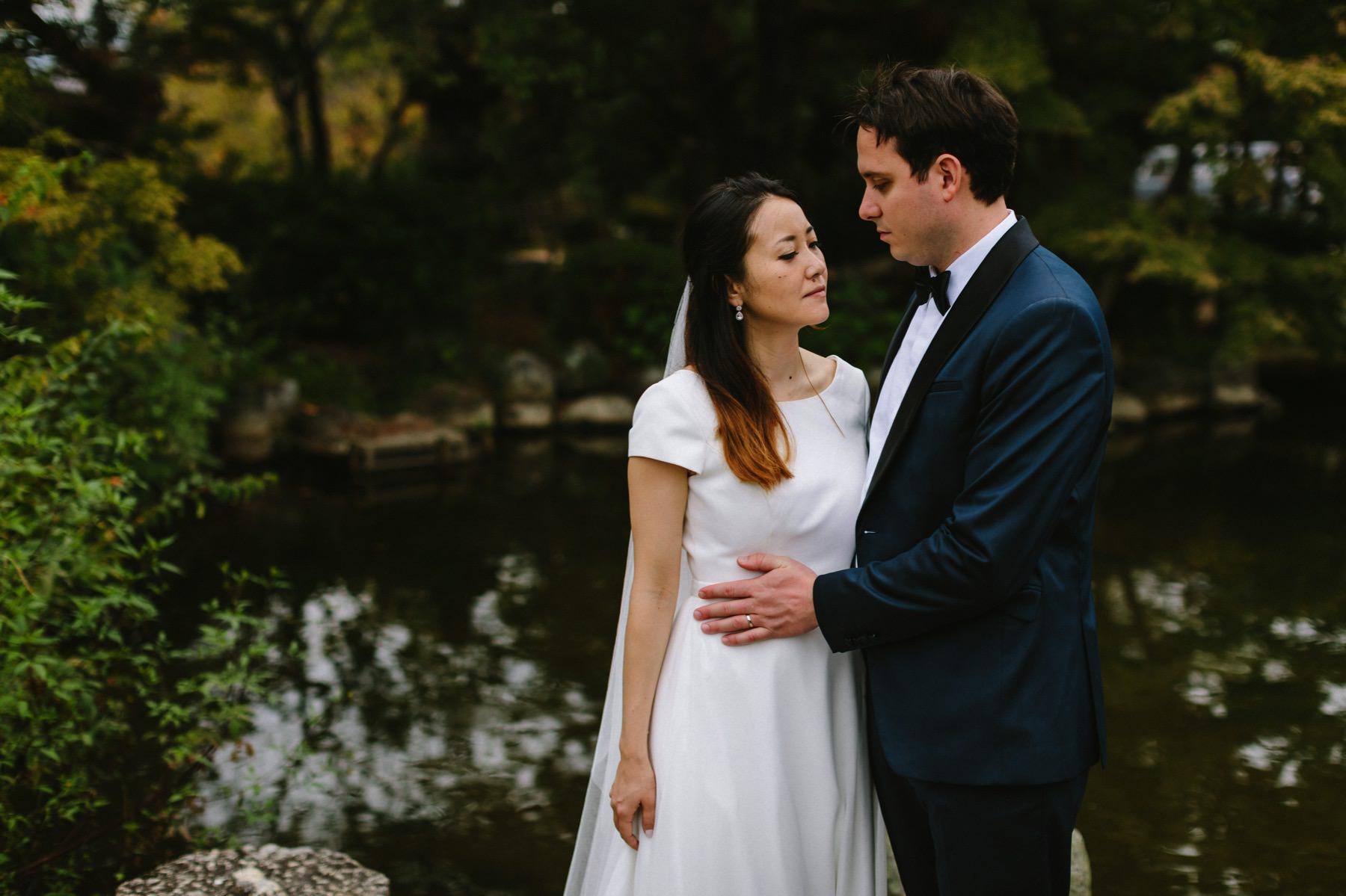 Japanese American wedding