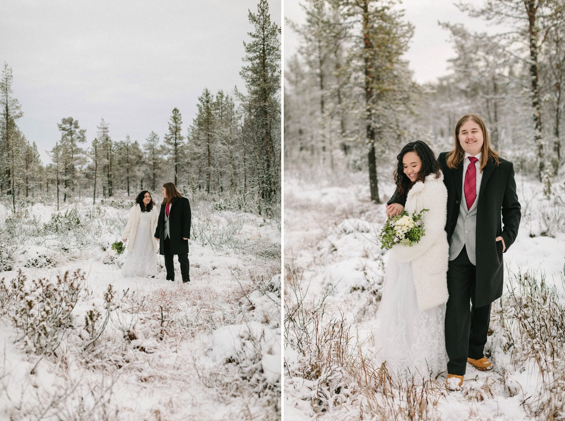 wedding in Lapland