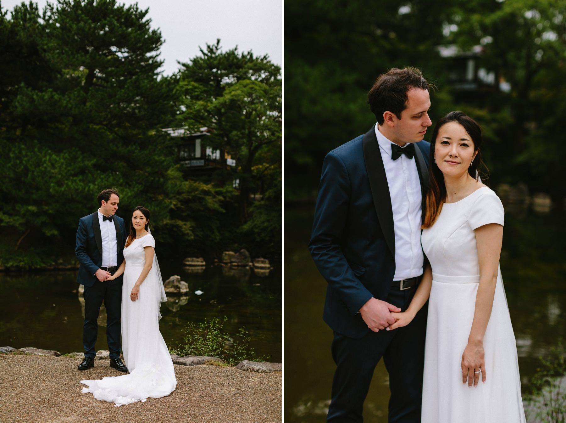 Japanese American wedding Kyoto