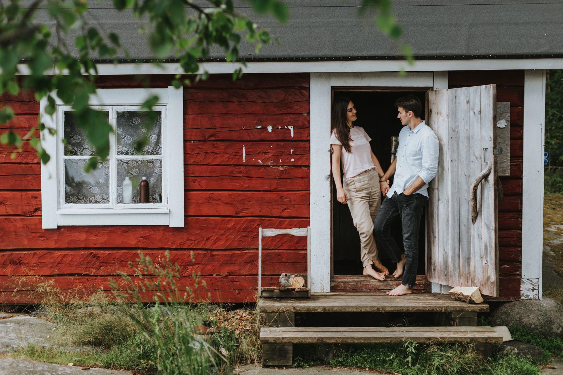 pre-wedding photographer Finland