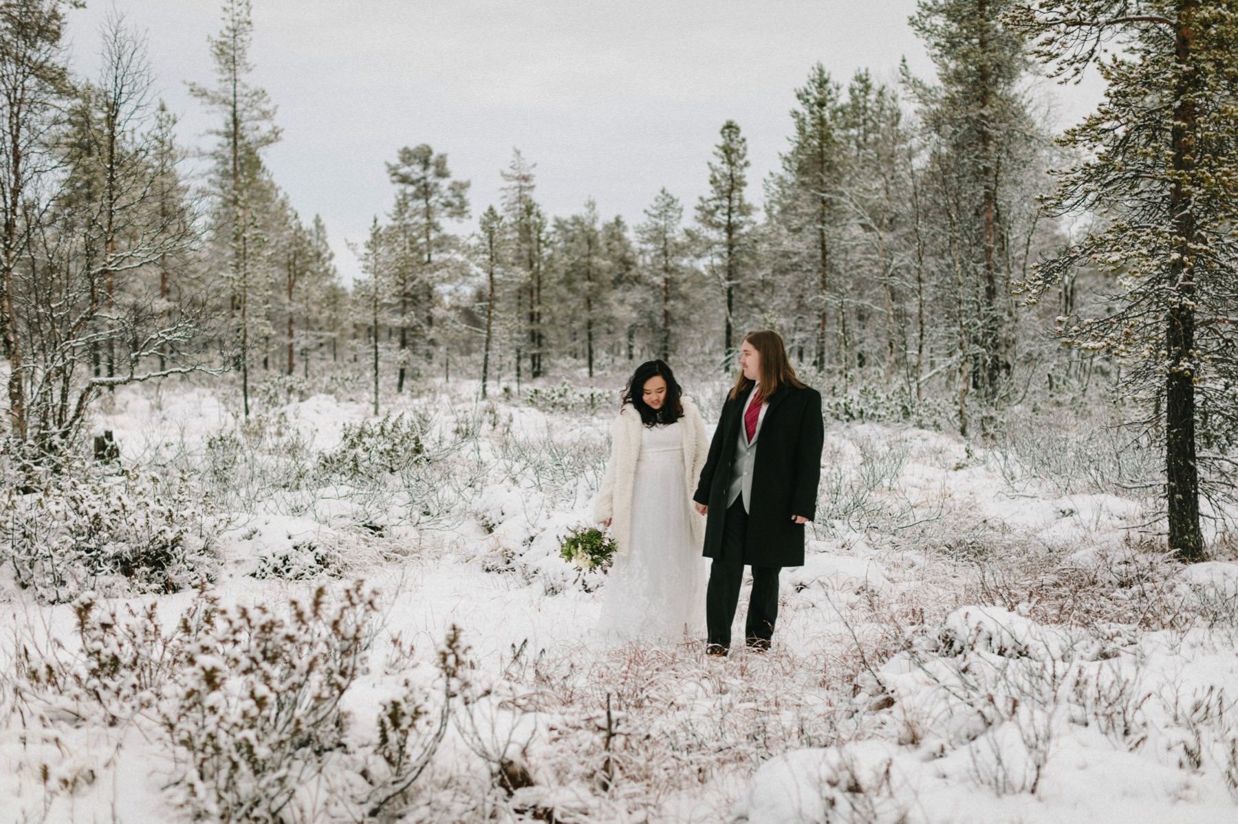 Lapland pre-wedding