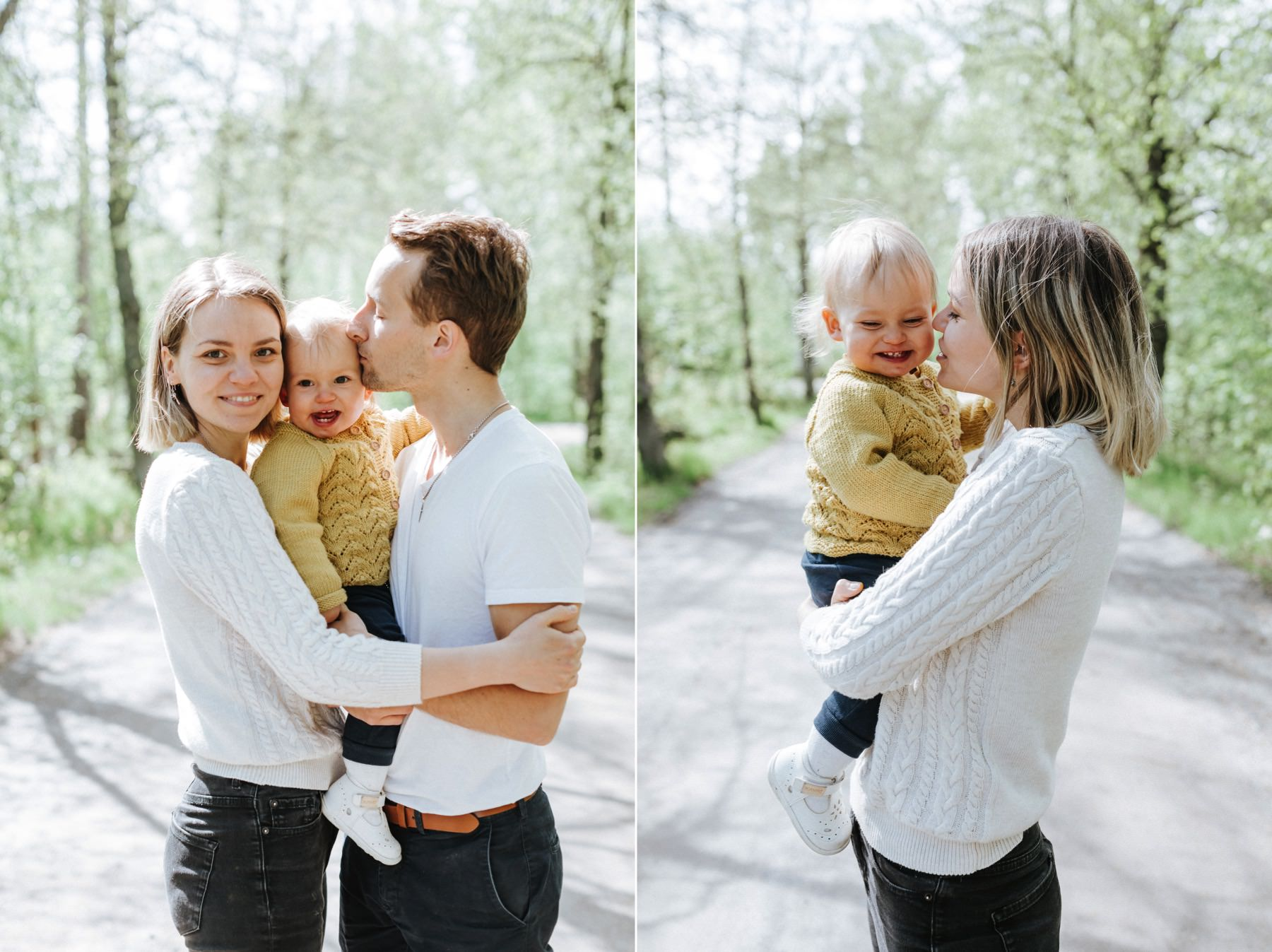 family photo session Vaasa
