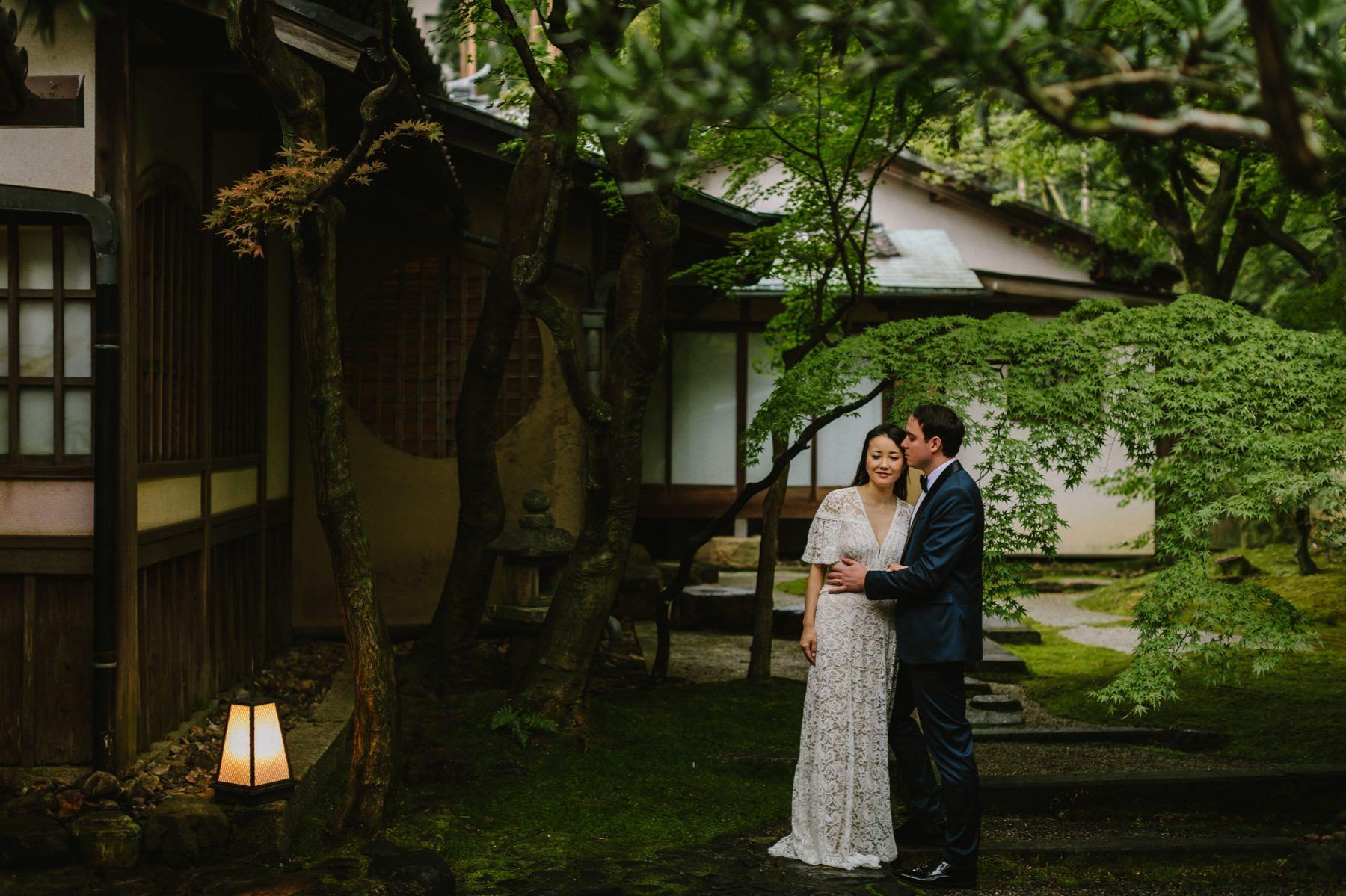 Shozan Resort Japanese garden wedding