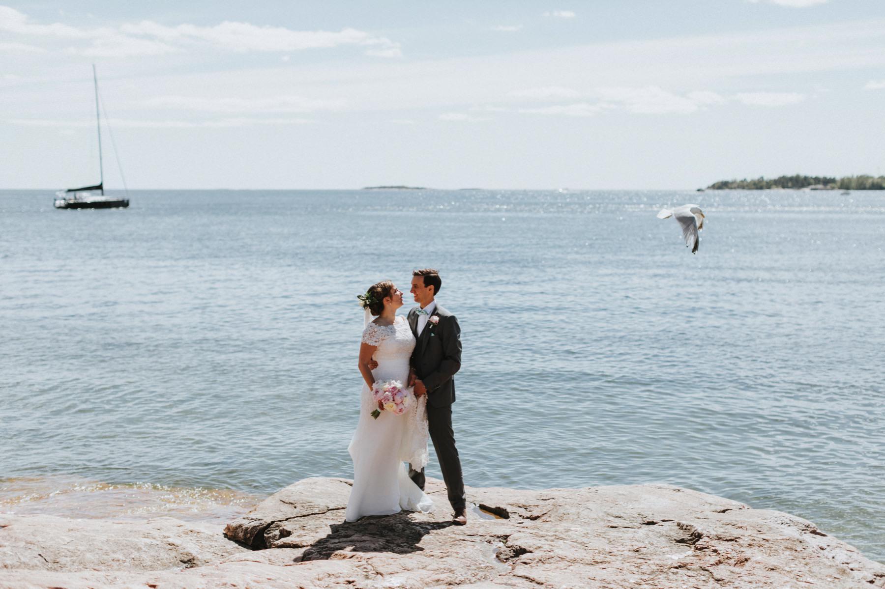 international wedding in Helsinki