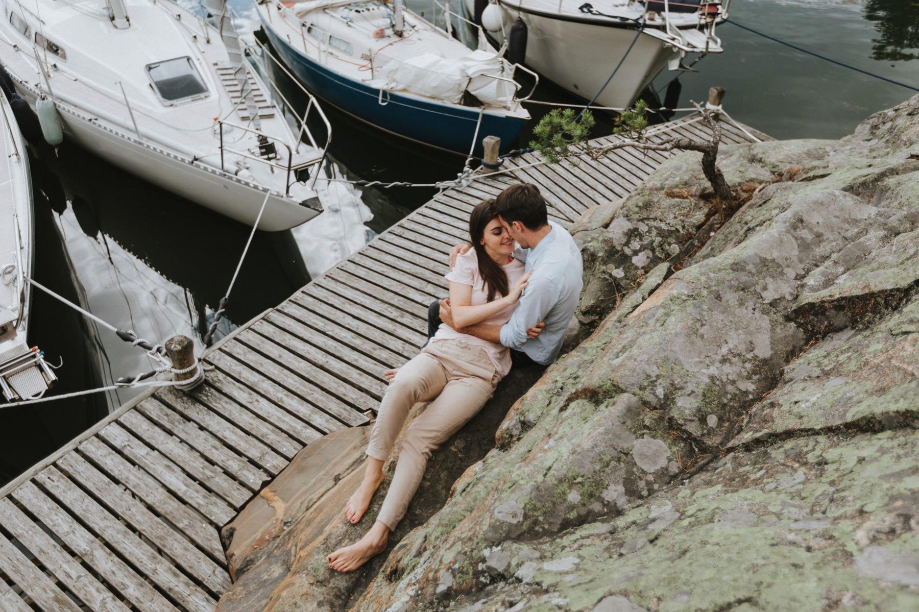 sailboat couple session
