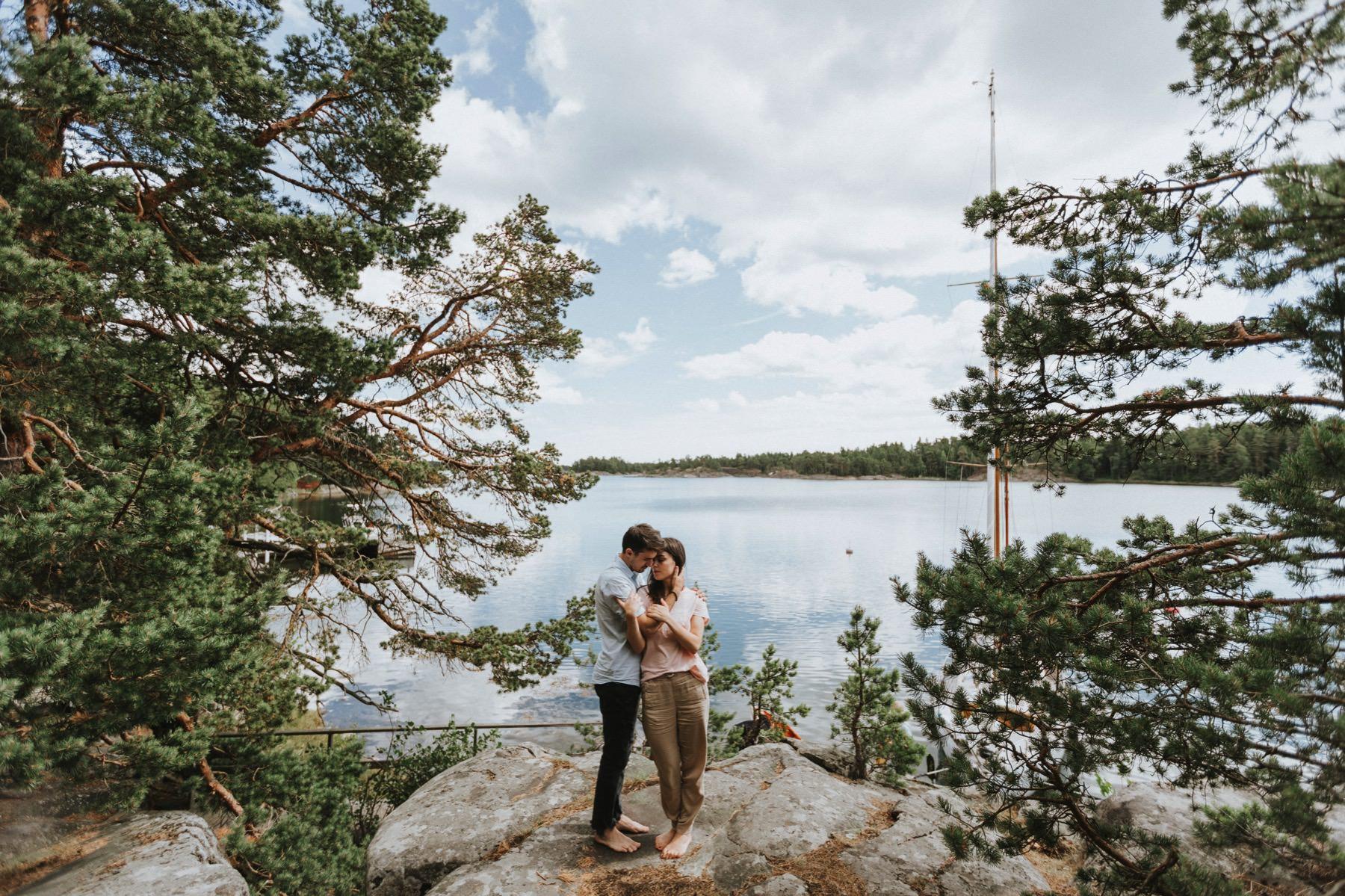 Archipelago Sea photo pre wedding session