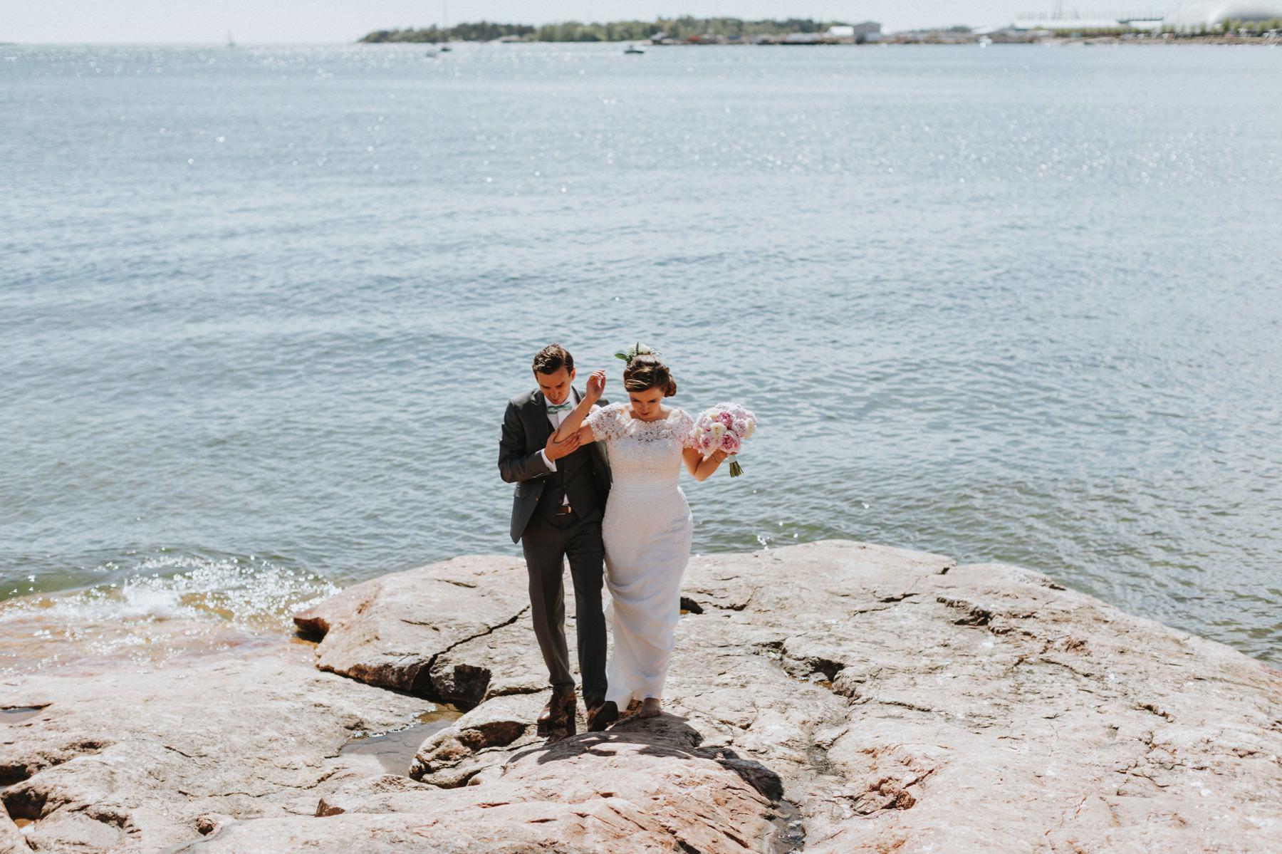 island wedding Helsinki
