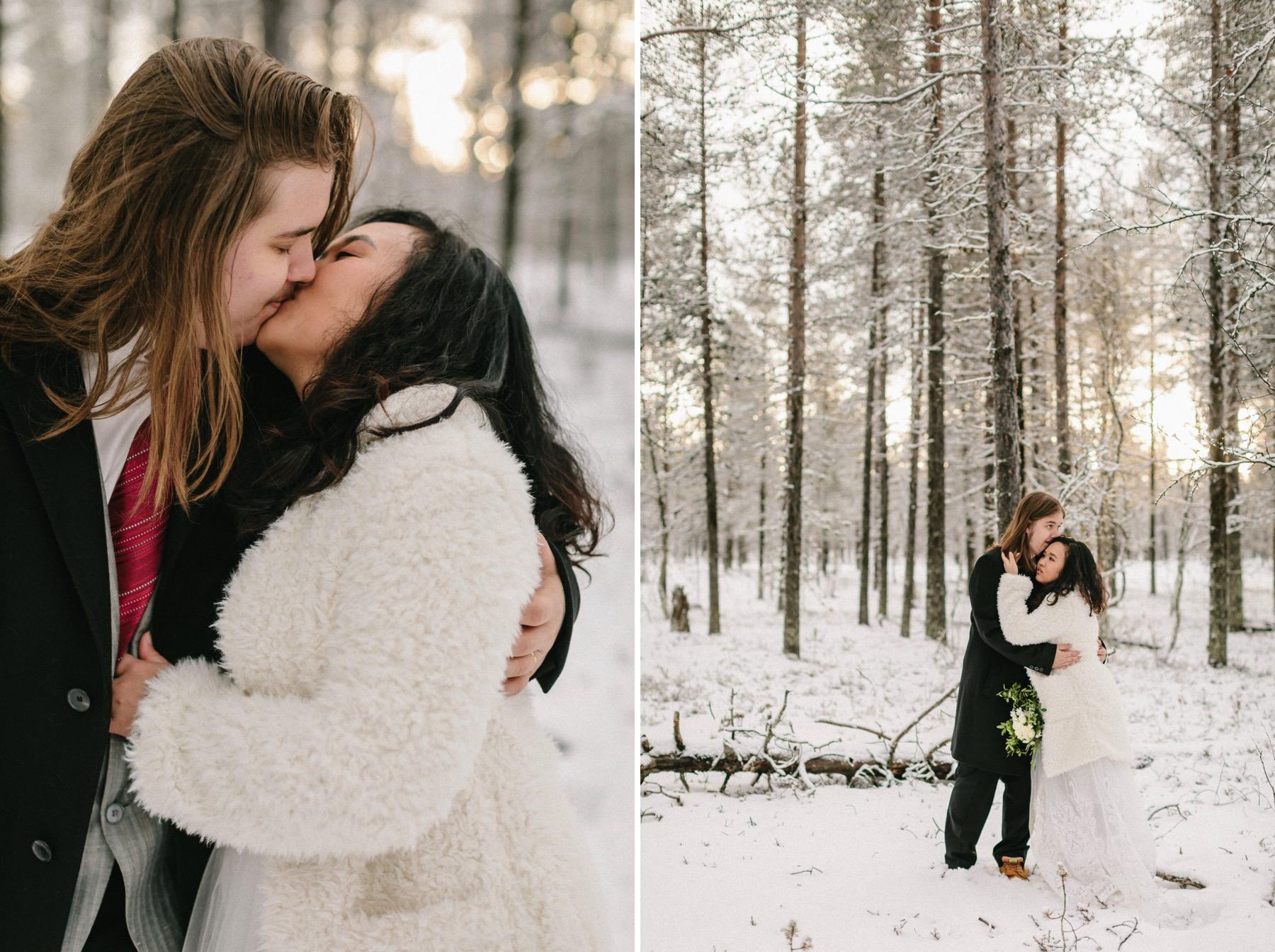 Lapland photo session