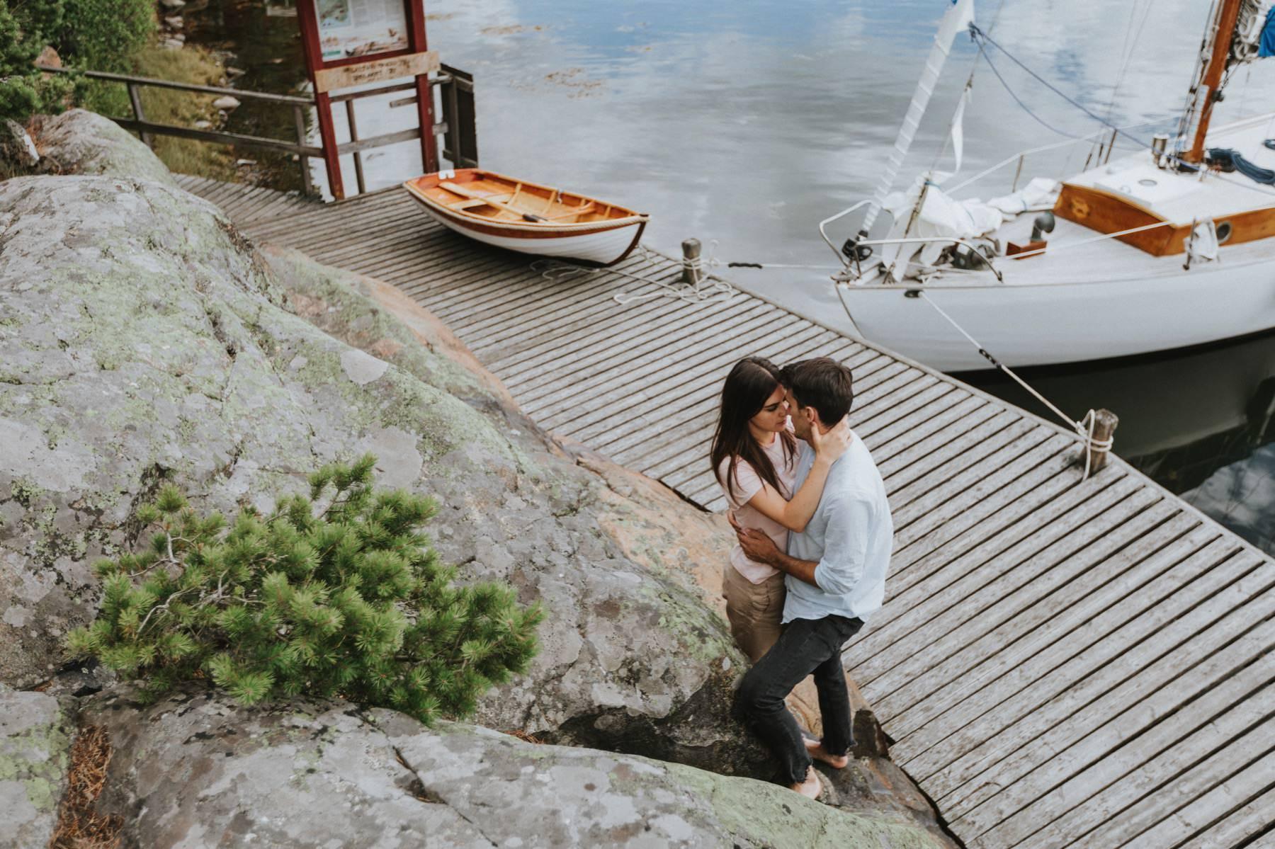 pre-wedding session Archipelago Sea