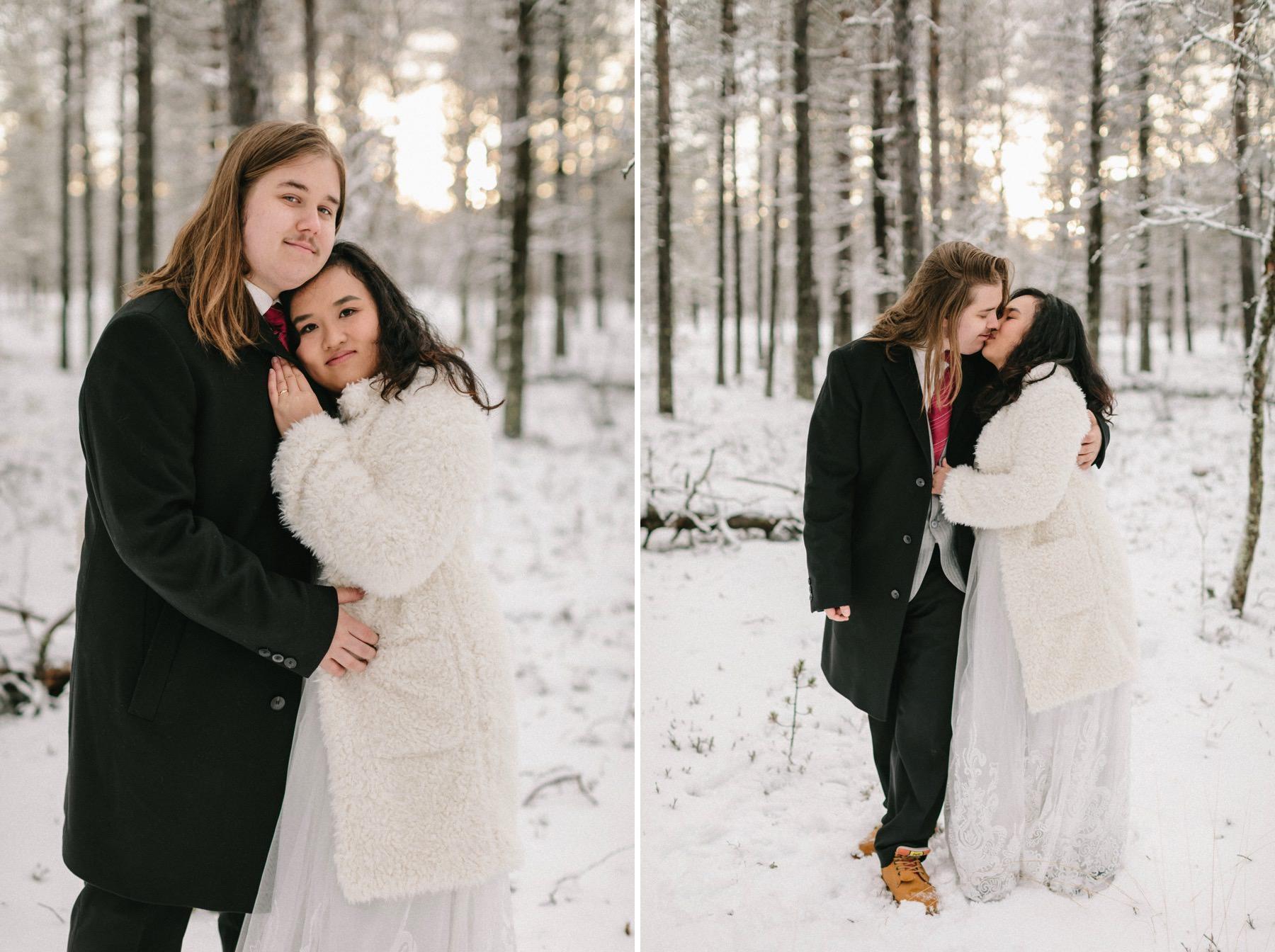 wedding photography Lapland