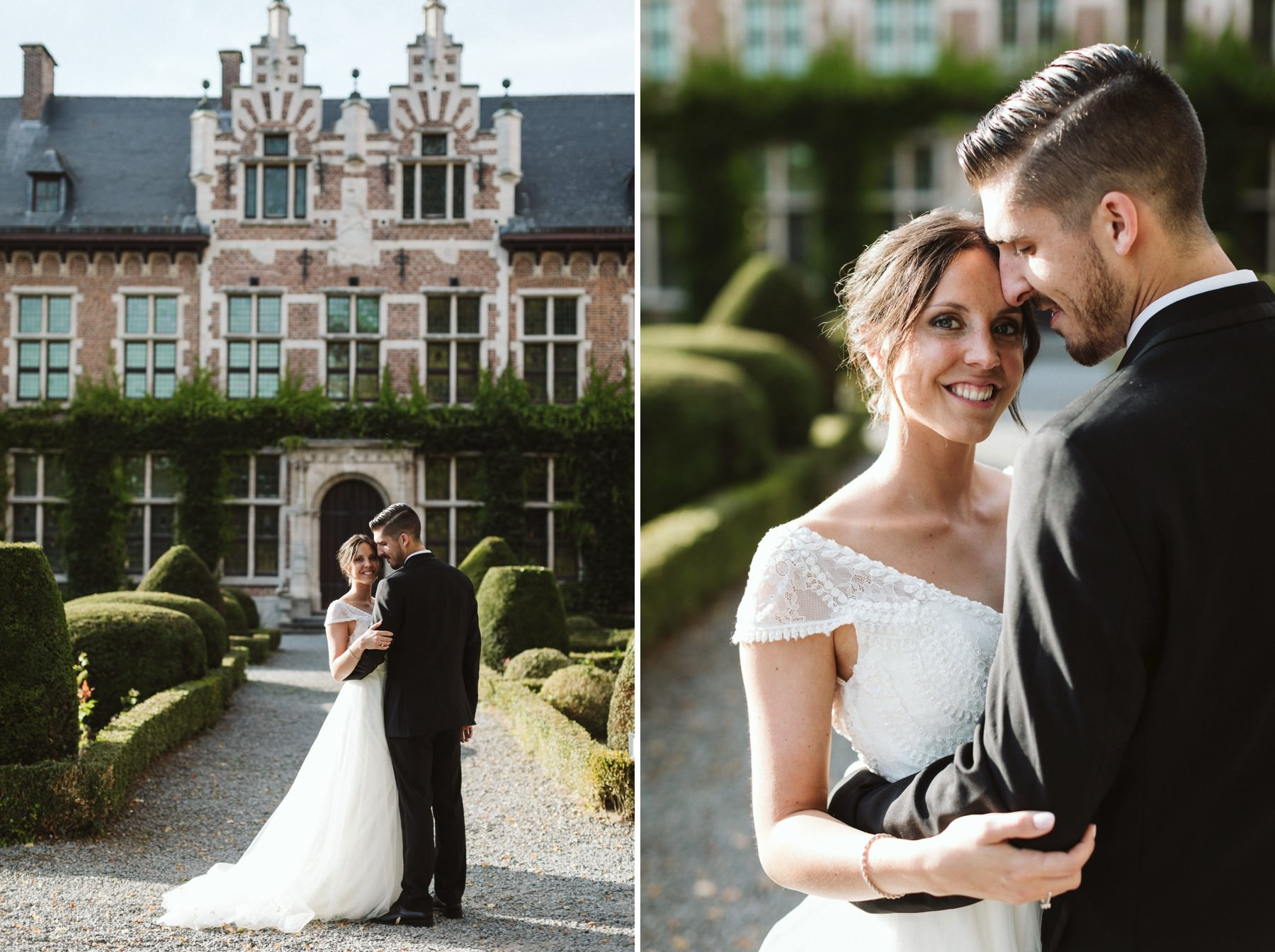 Brussels wedding photographer Gaasbeek Castle