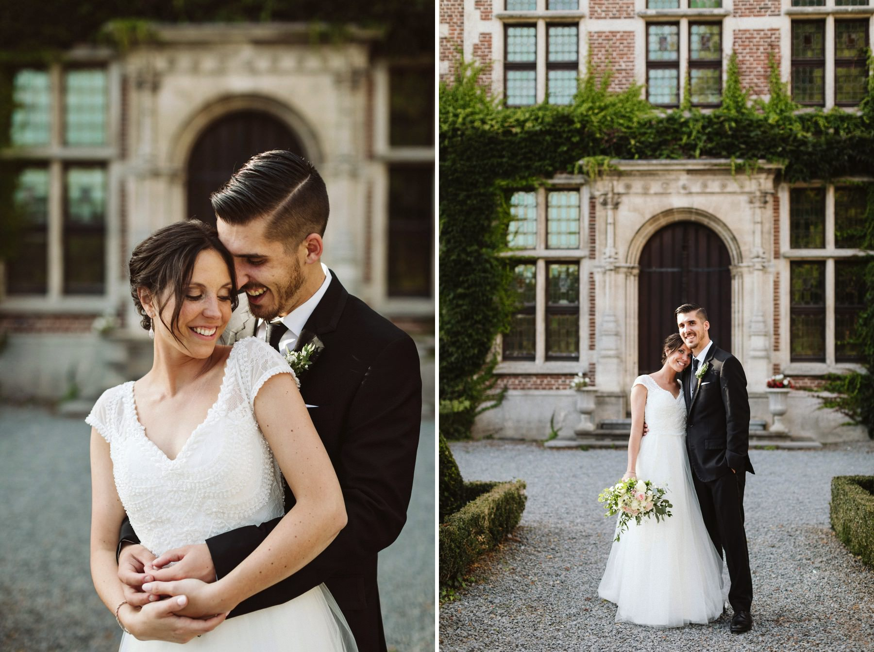 wedding at Gaasbeek Castle Lennik