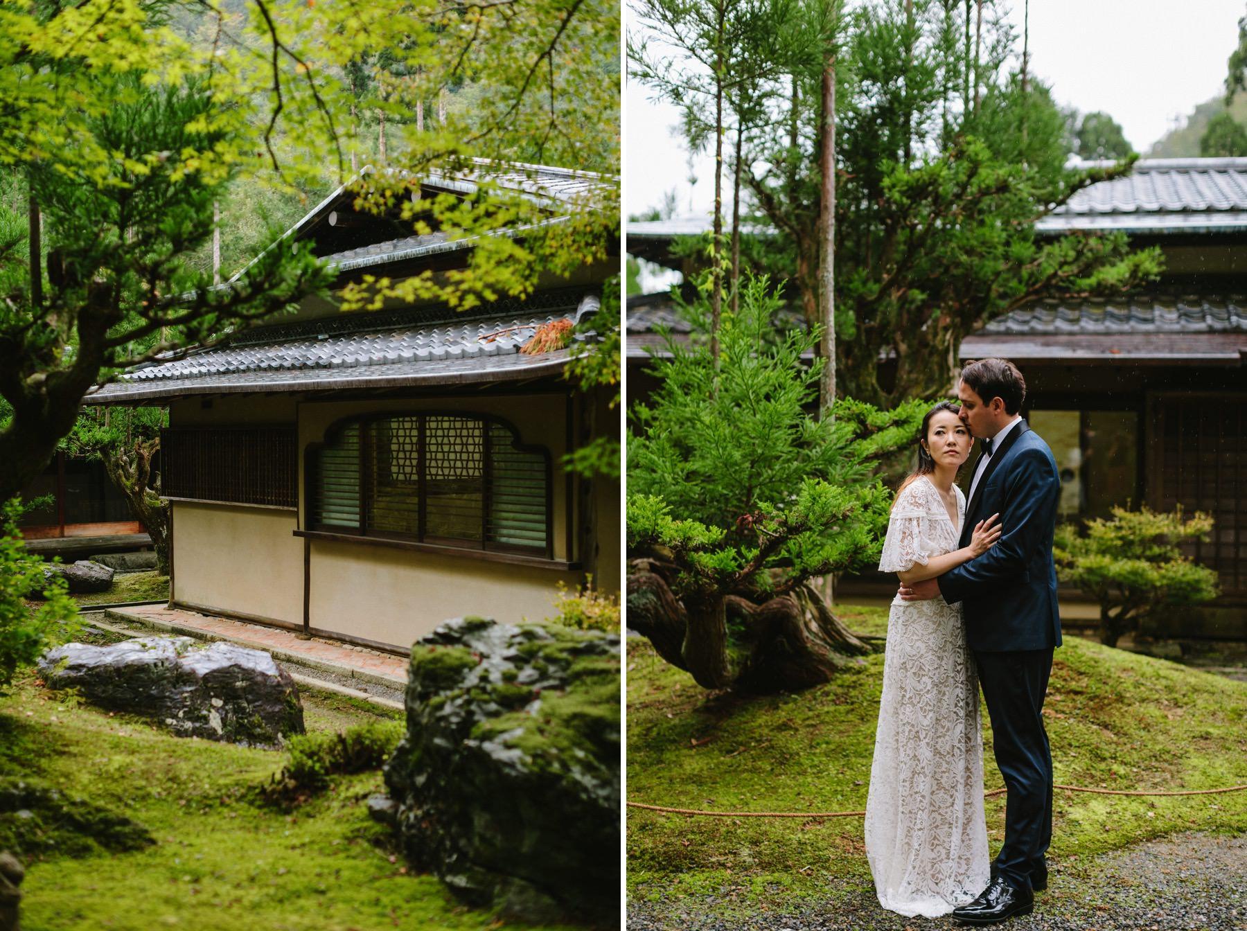 Shozan Resort Garden wedding