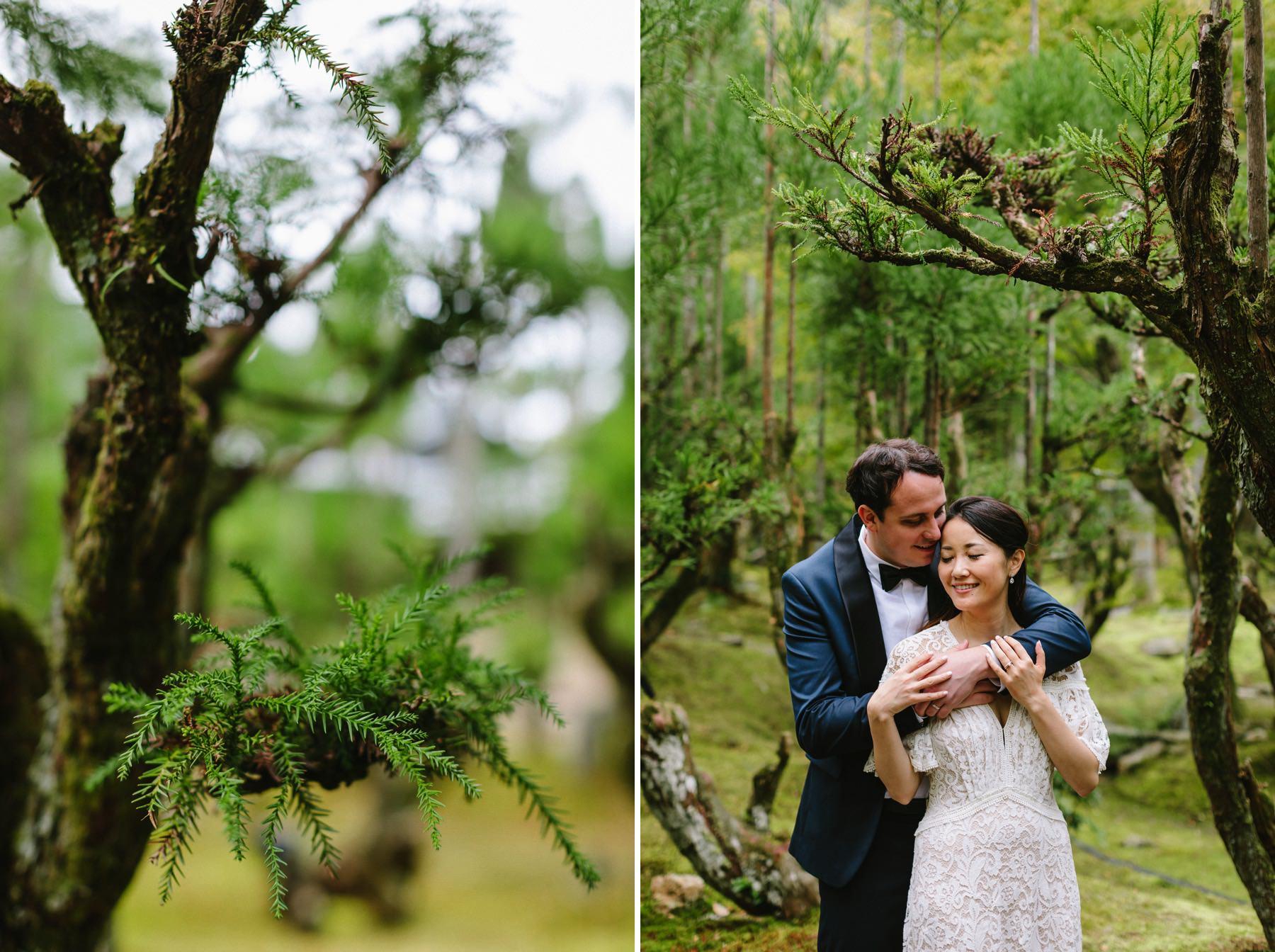 bonsai garden Shozan Resort Kyoto