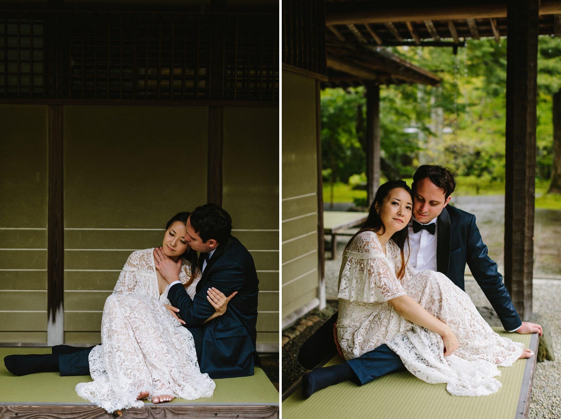 wedding at Shozan Resort Kyoto
