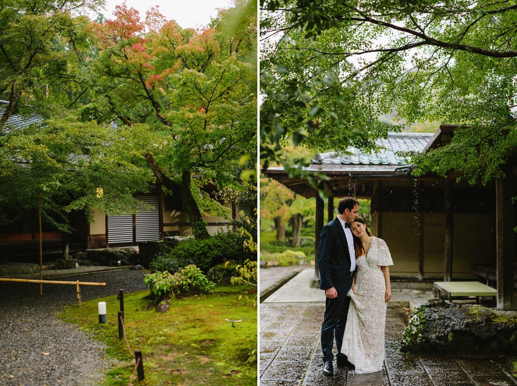 international wedding in Kyoto