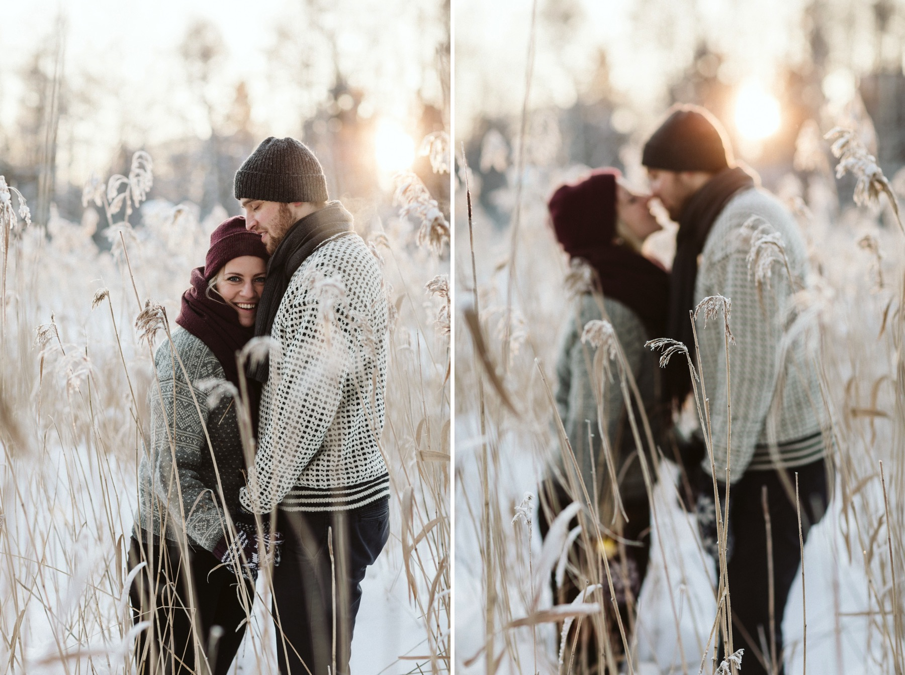 Finland engagement session