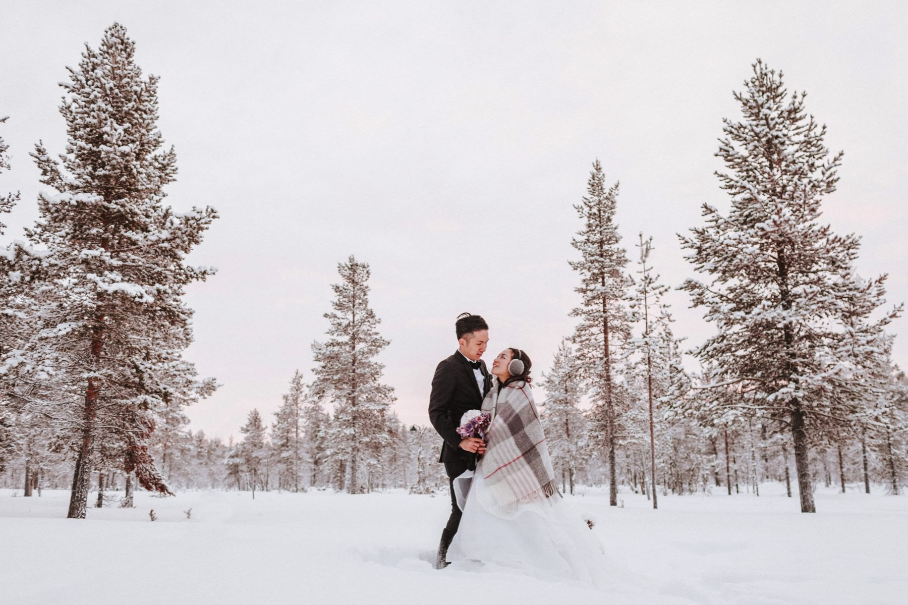 Kakslauttanen Arctic Resort Wedding